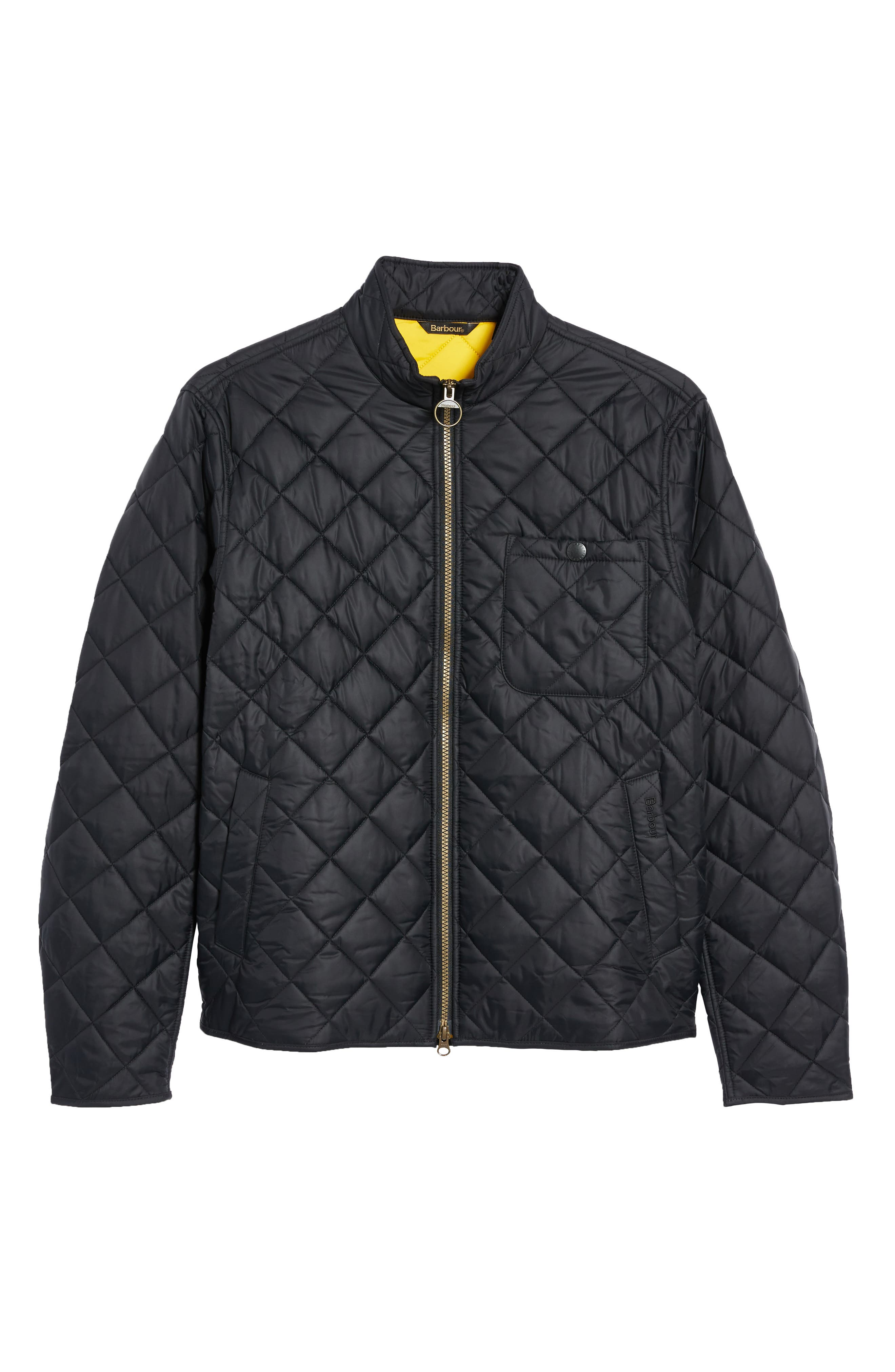 Alternate Image 7  - Barbour Pod Slim Fit Water Resistant Quilted Jacket