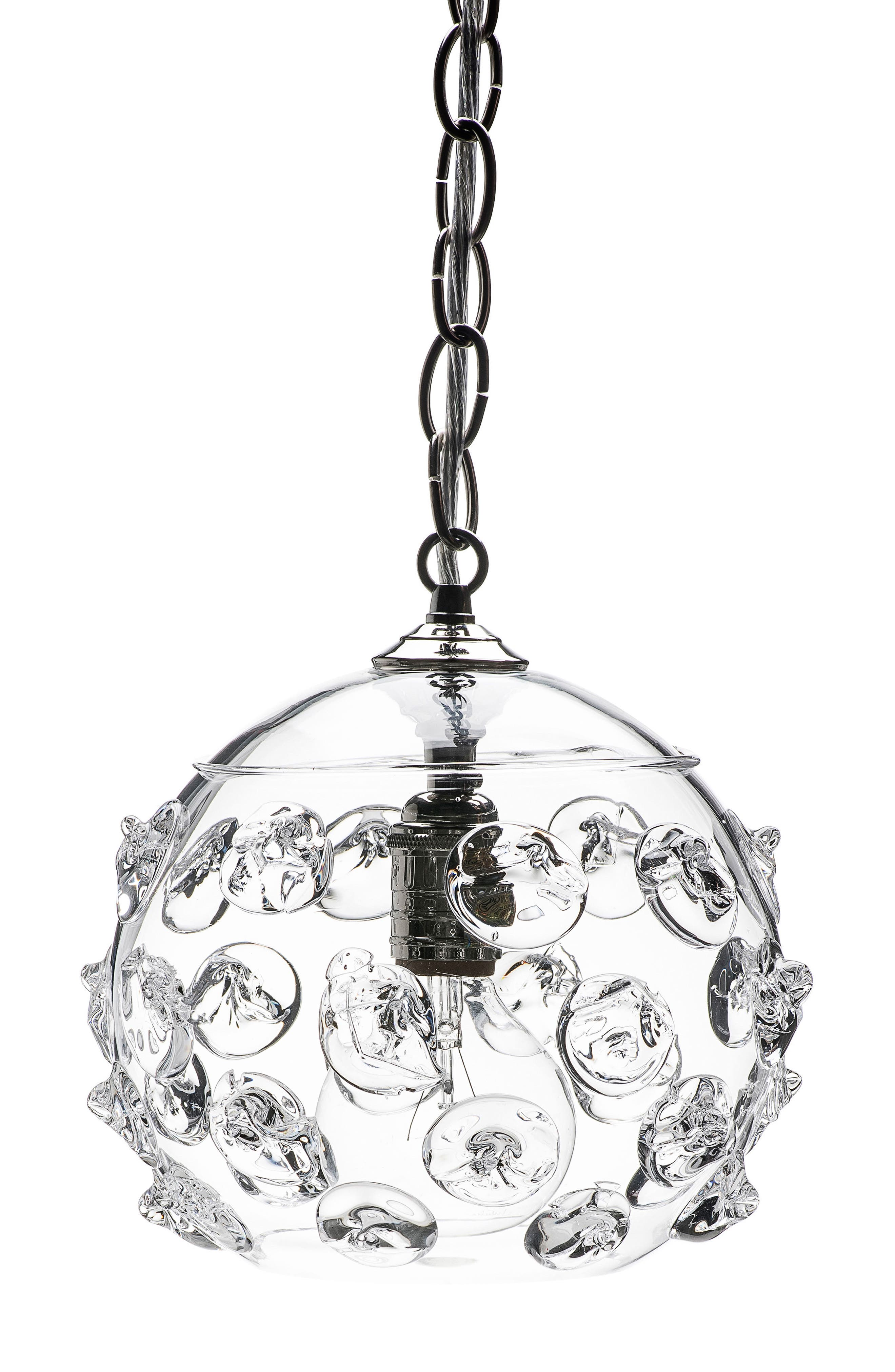 Florence Globe Pendant Lamp,                         Main,                         color, Clear