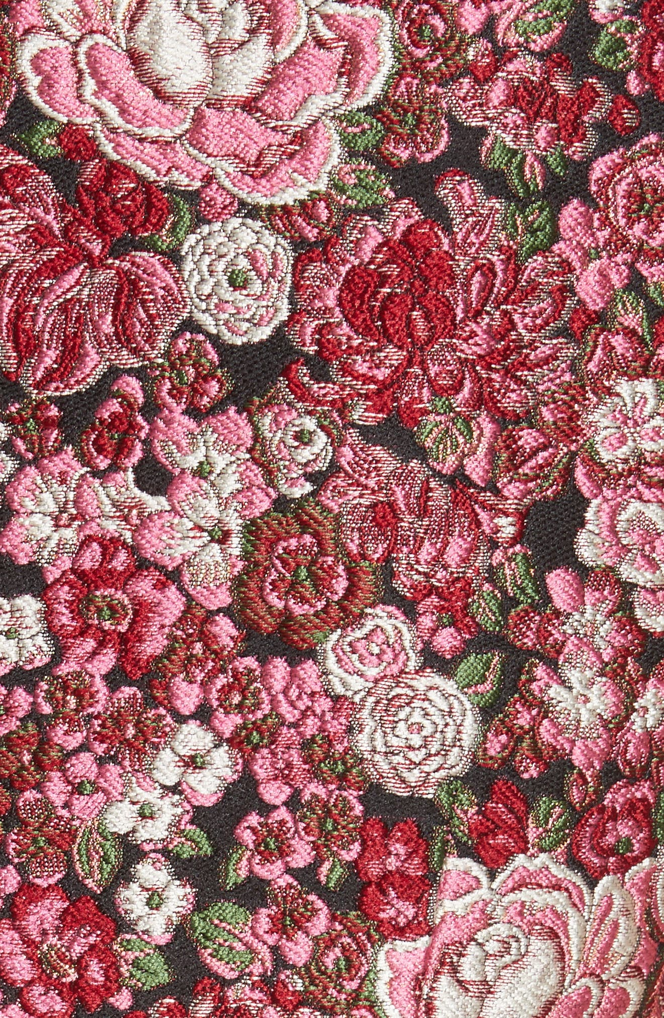 Alternate Image 5  - Adam Lippes Floral Brocade Dress