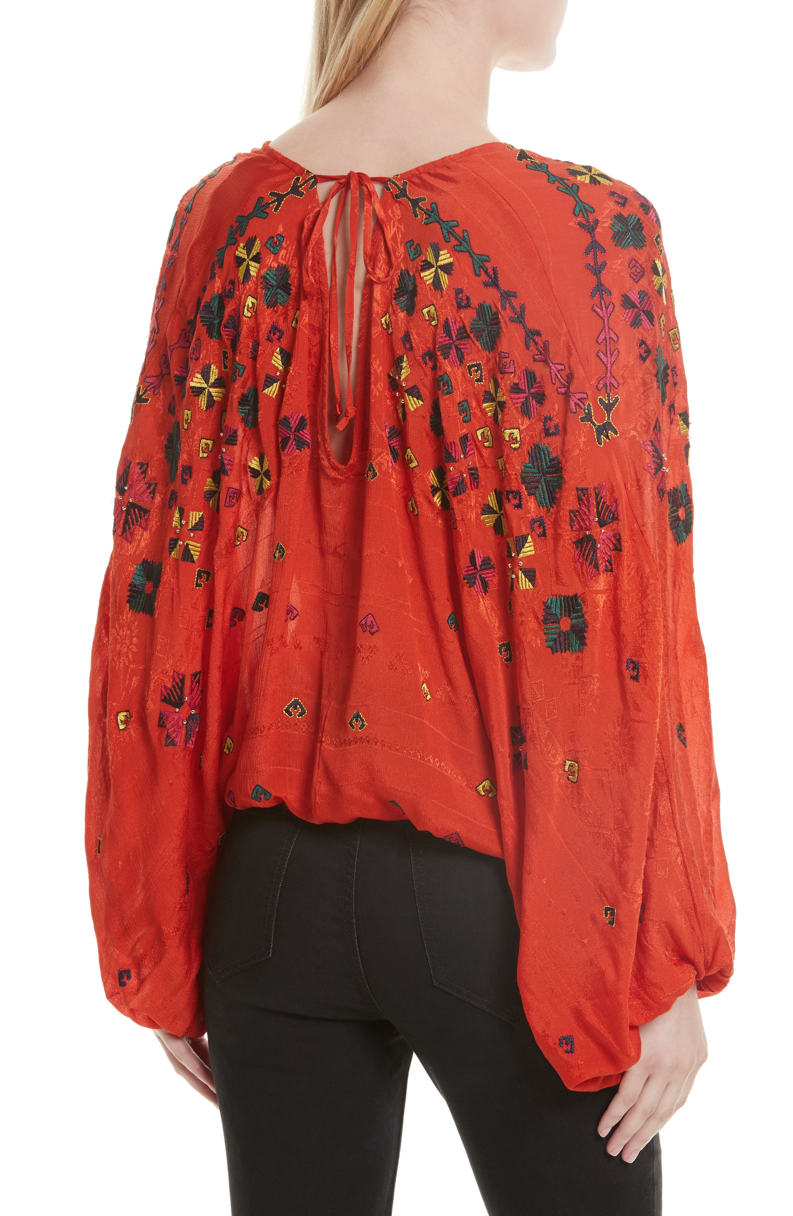 Alternate Image 3  - Free People Music in Time Embroidered Top