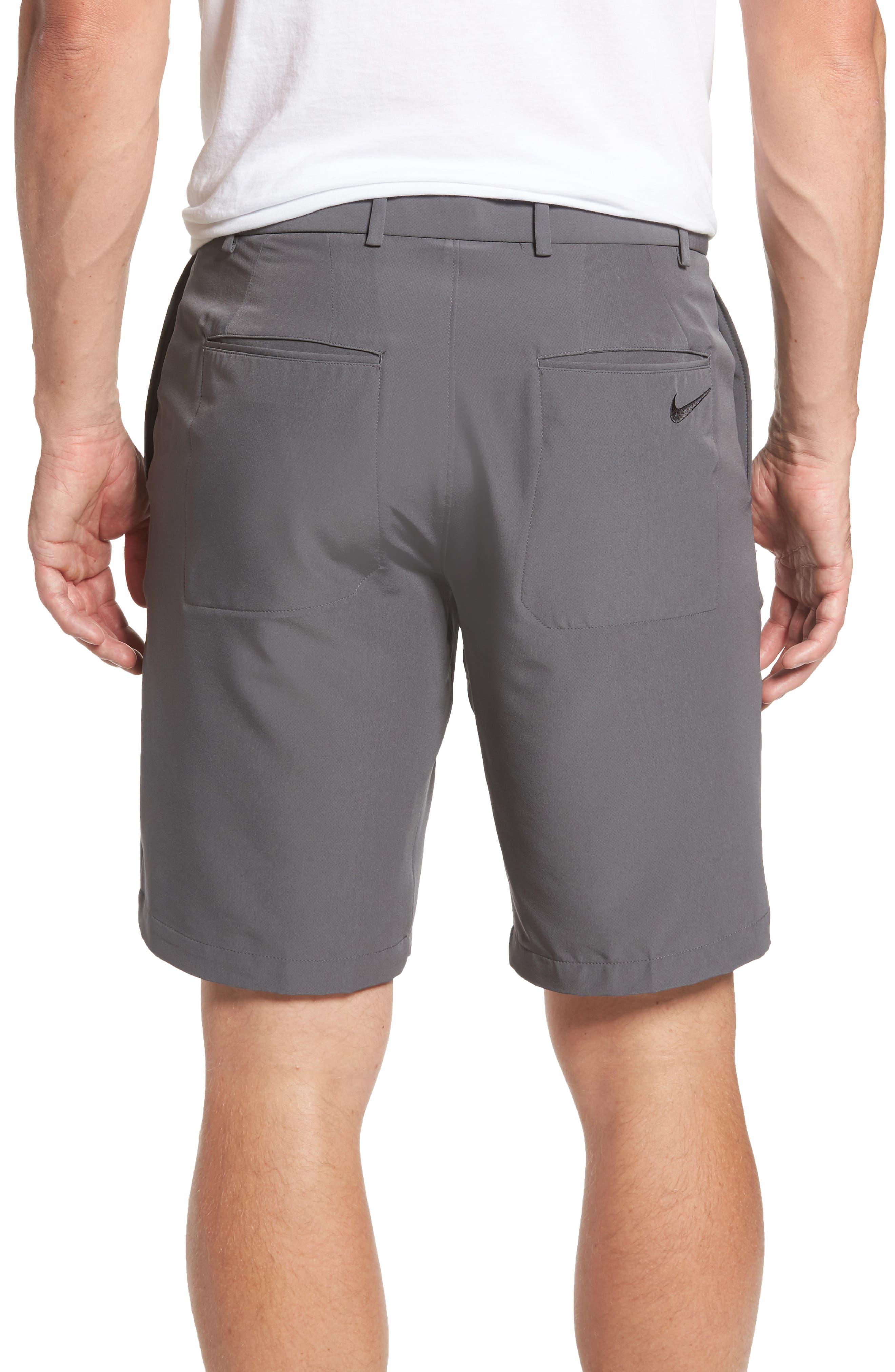 Hybrid Flex Golf Shorts,                             Alternate thumbnail 3, color,                             Dark Grey/ Black