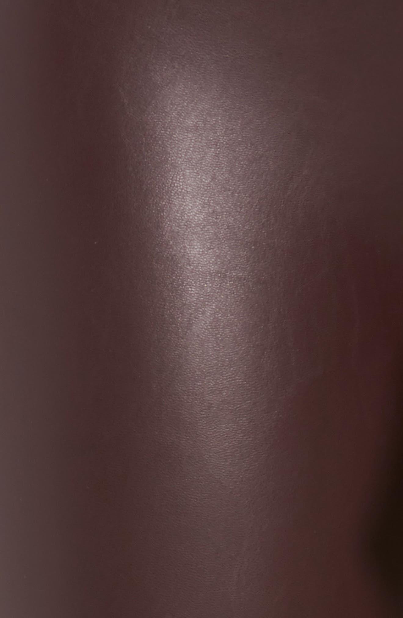 Alternate Image 6  - David Lerner Elliot High Waist Faux Leather Leggings