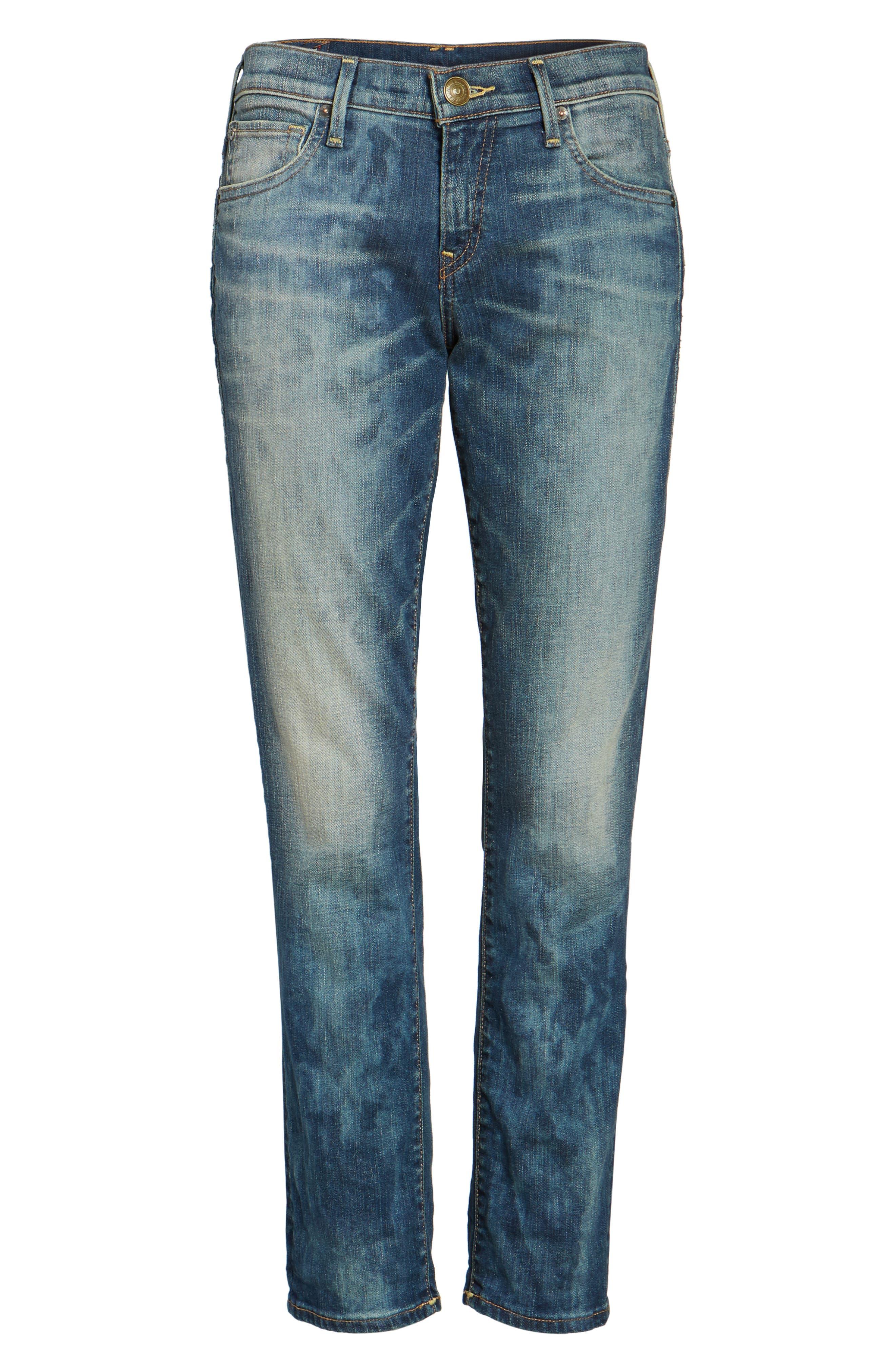 Alternate Image 6  - True Religion Brand Jeans Cameron Slim Boyfriend Jeans (Distillery)