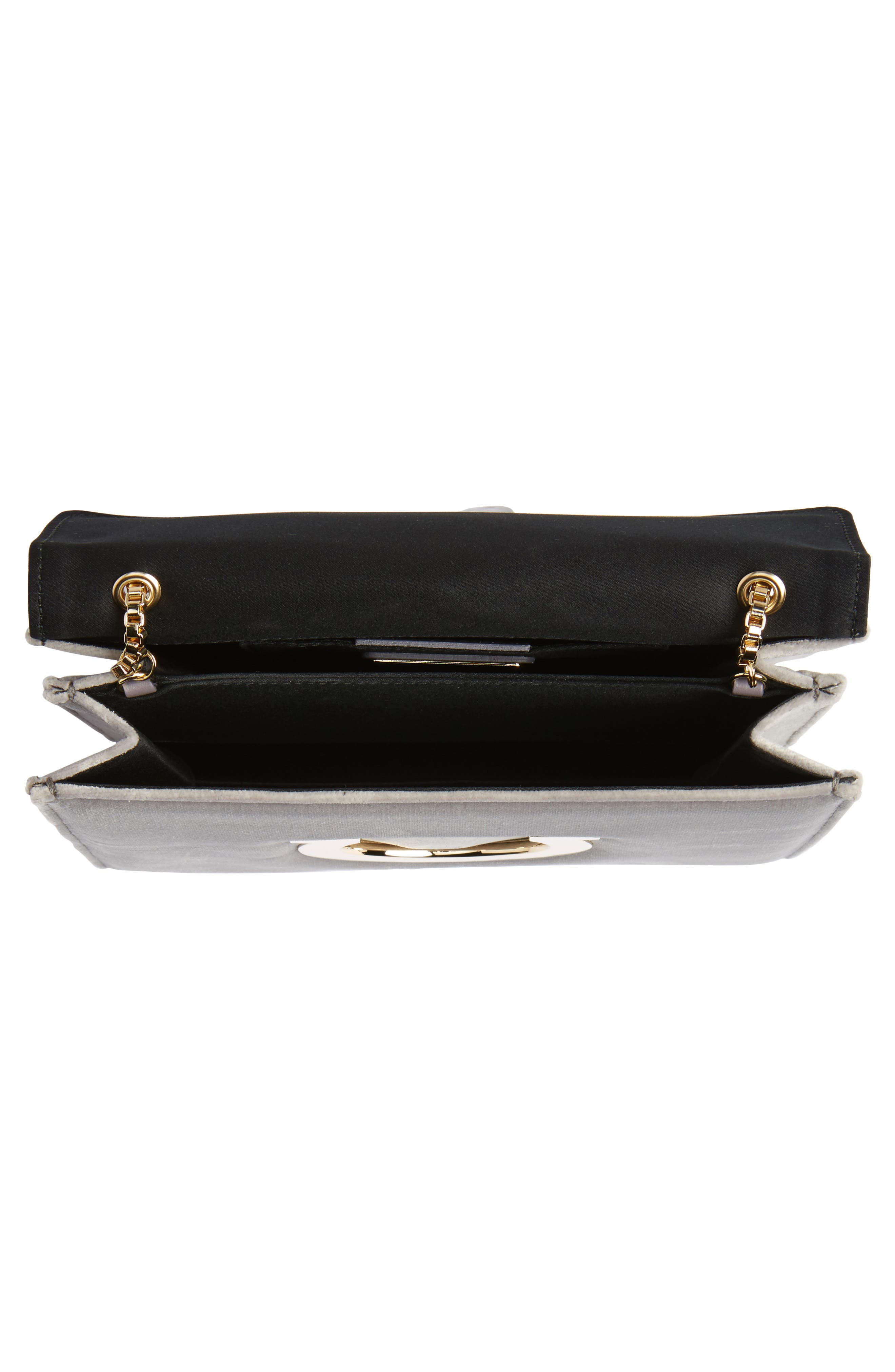 Alternate Image 4  - Salvatore Ferragamo Small Thalia Velvet Crossbody Bag