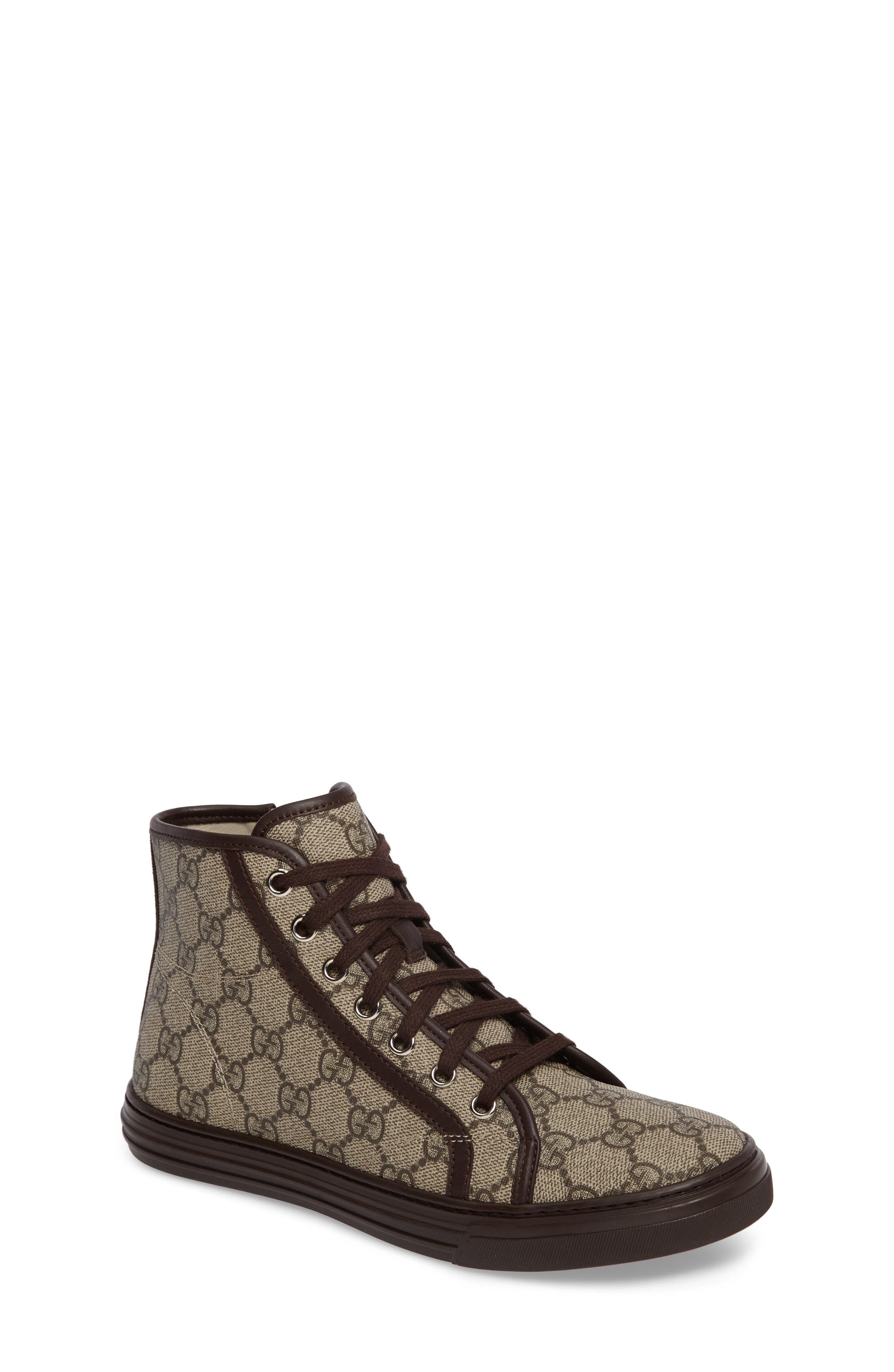 Gucci California High Top Sneaker (Baby, Walker, Toddler, Little Kid & Big Kid)