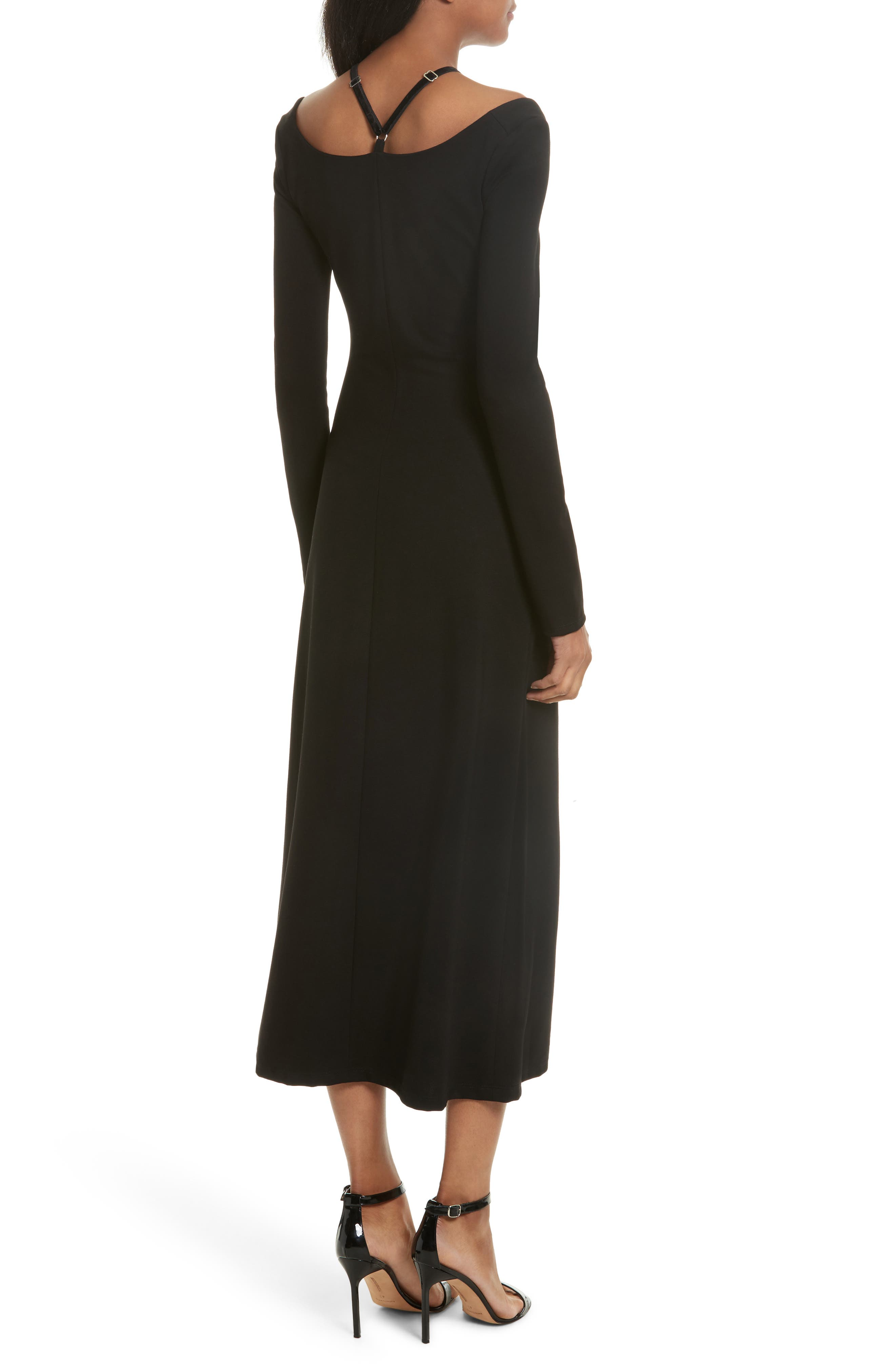 Alternate Image 2  - A.L.C. Jessa Cutout Midi Dress