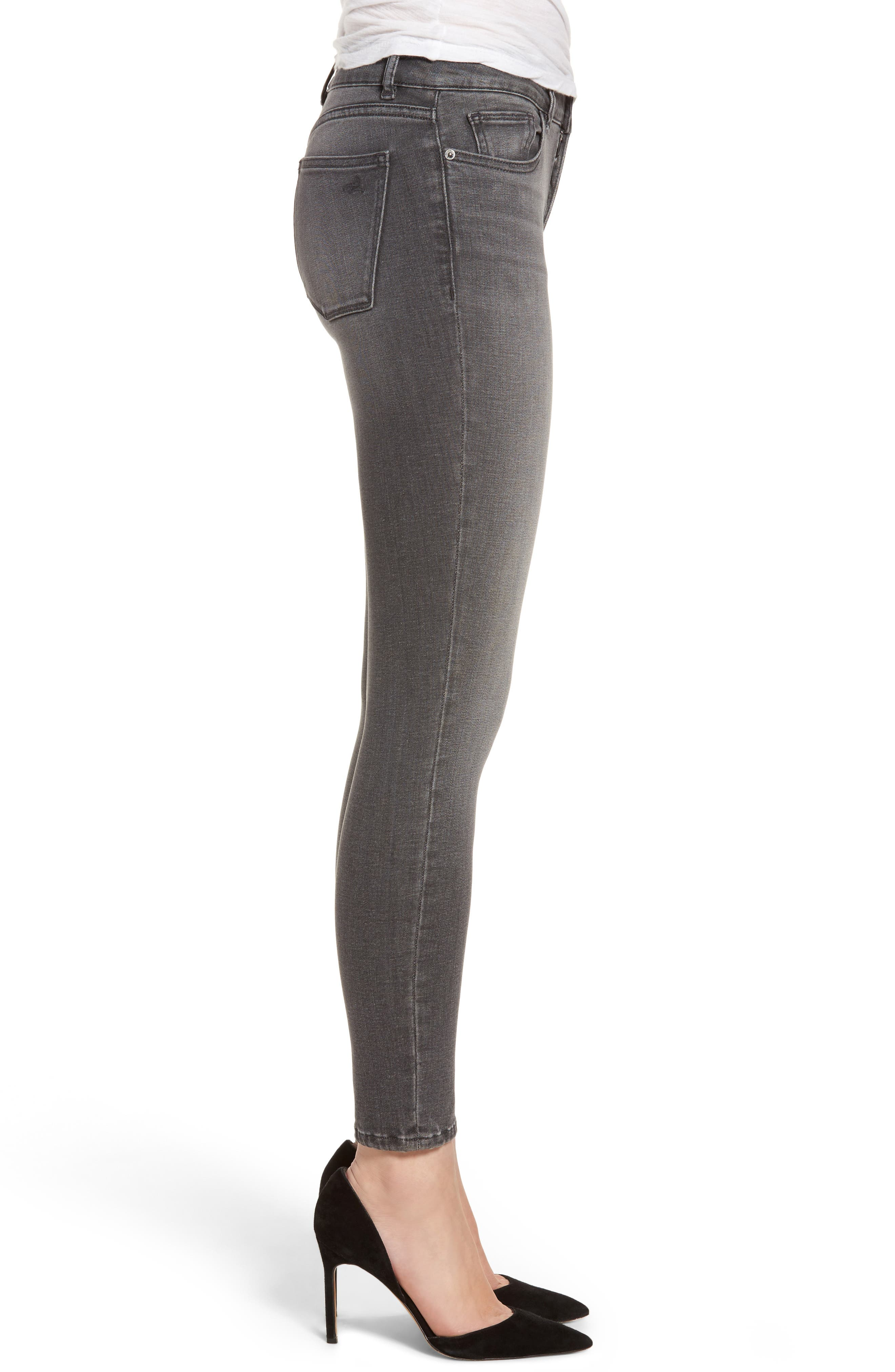 Alternate Image 3  - DL1961 Margaux Instasculpt Ankle Skinny Jeans (Drizzle)