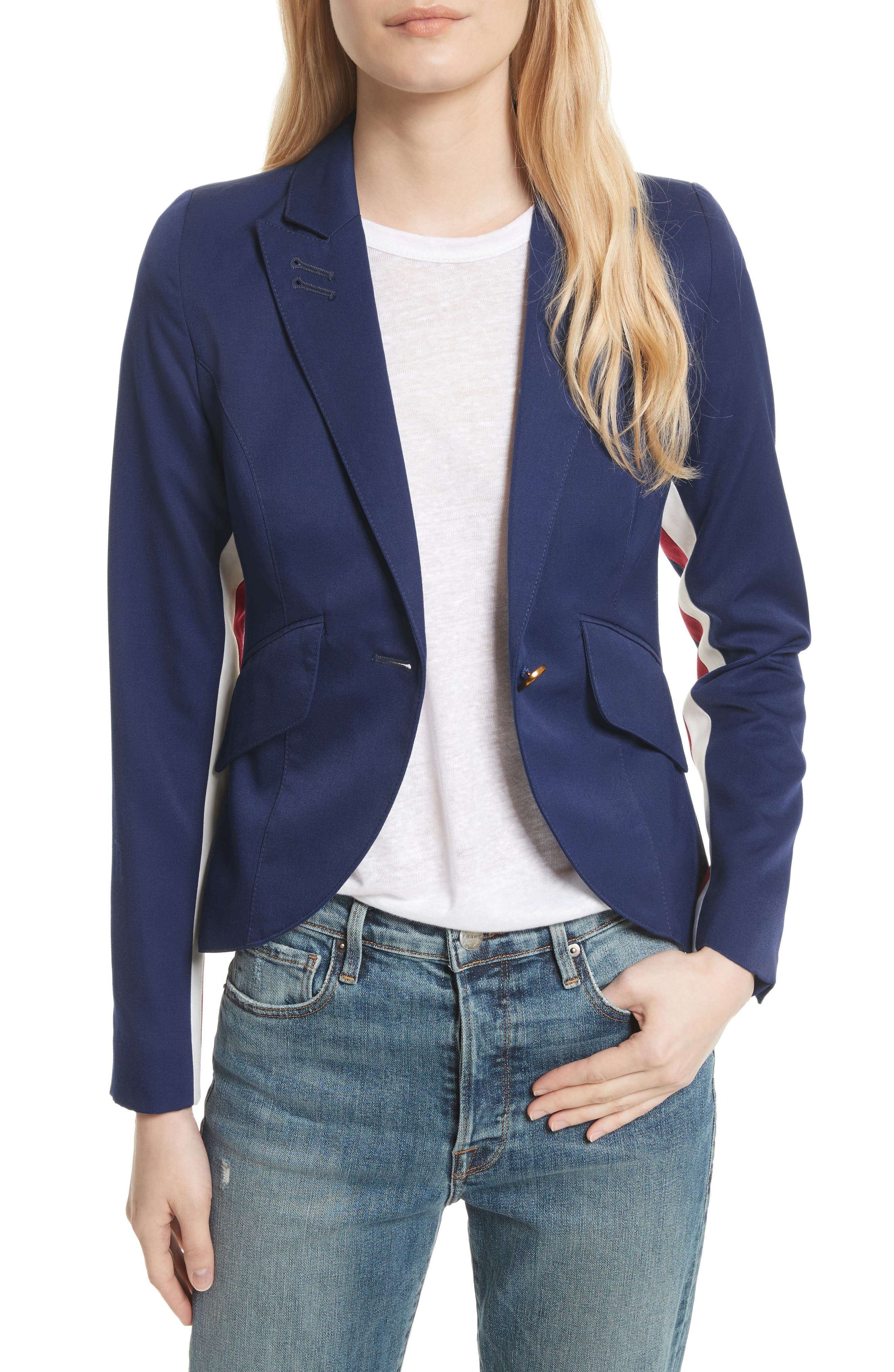 Smythe Racing Stripe Blazer