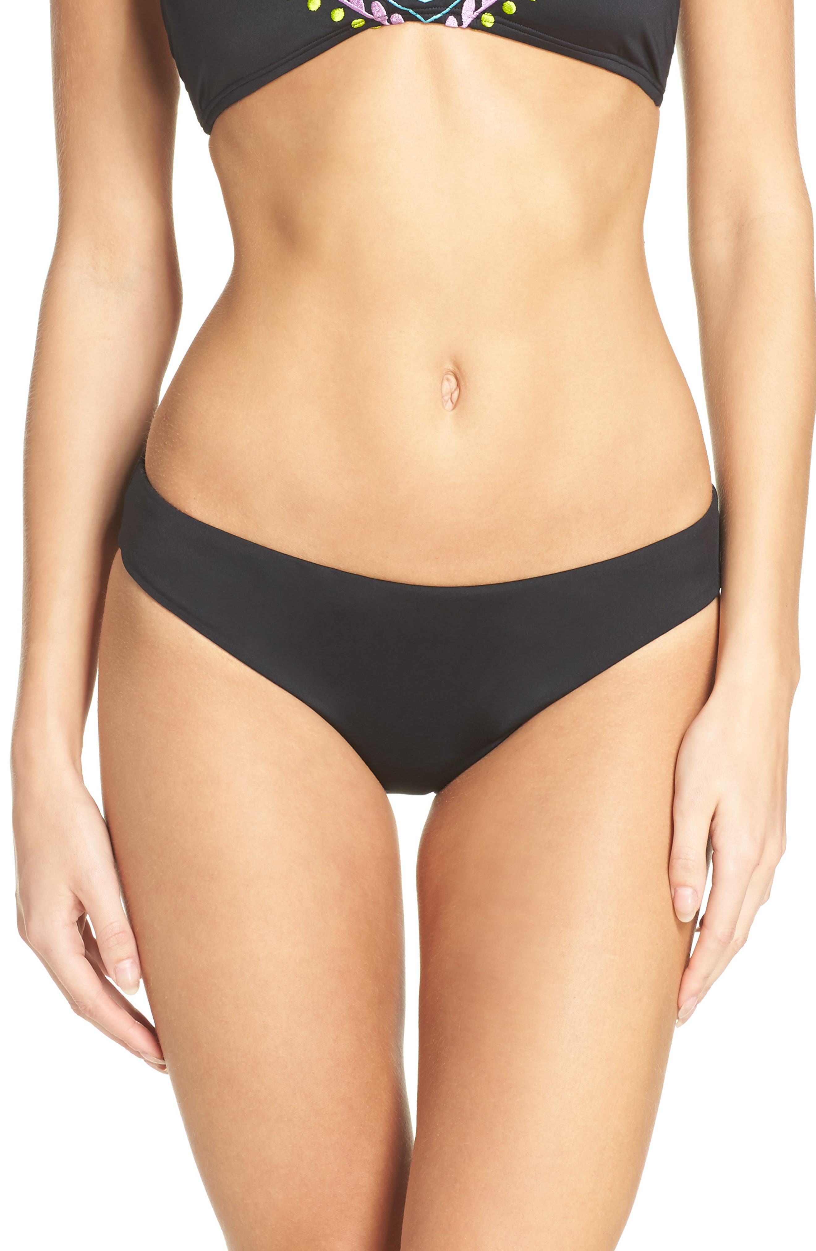 Alternate Image 1 Selected - Laundry by Shelli Segal Hipster Bikini Bottoms