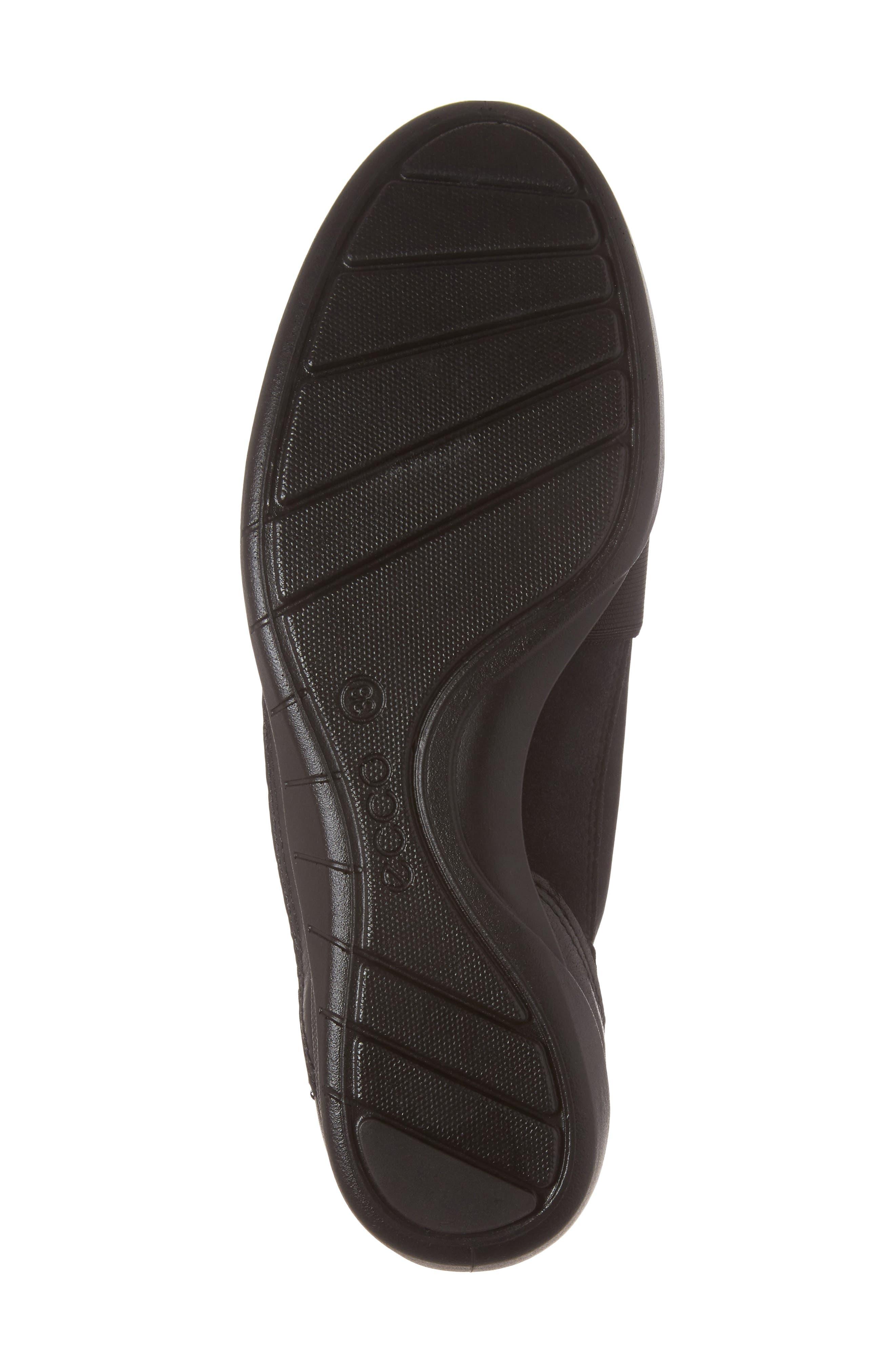 'Bluma' Slip-On Sneaker,                             Alternate thumbnail 6, color,                             Black Leather