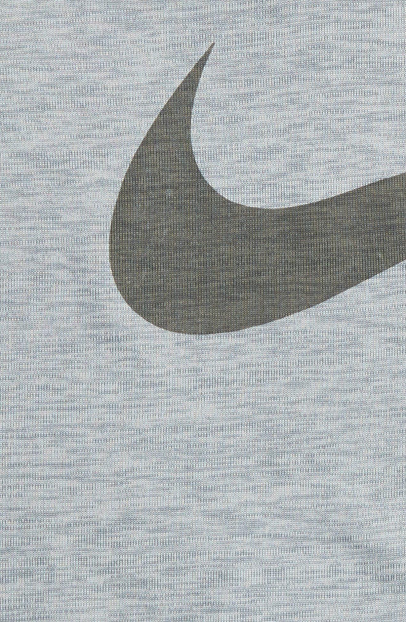 Dri-FIT T-Shirt,                             Alternate thumbnail 2, color,                             Metallic Silver
