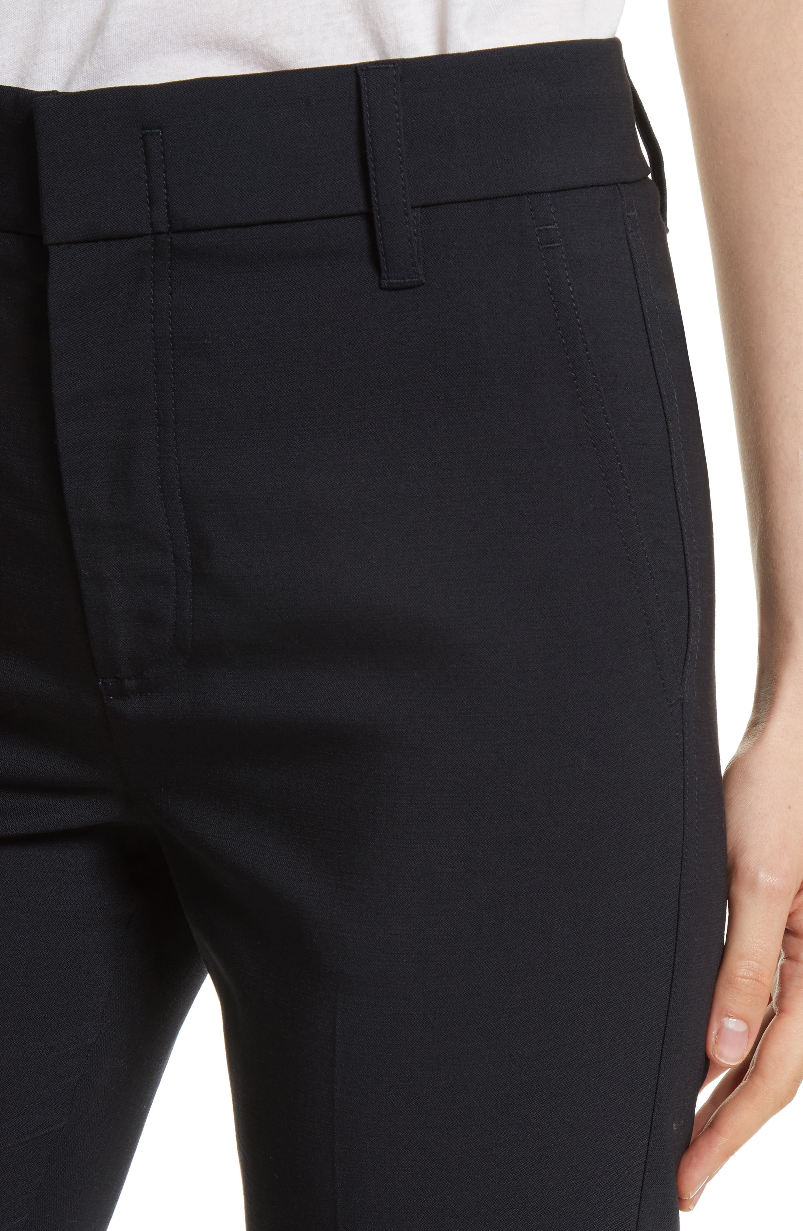 Tapered Ankle Trousers,                             Alternate thumbnail 4, color,                             Coastal