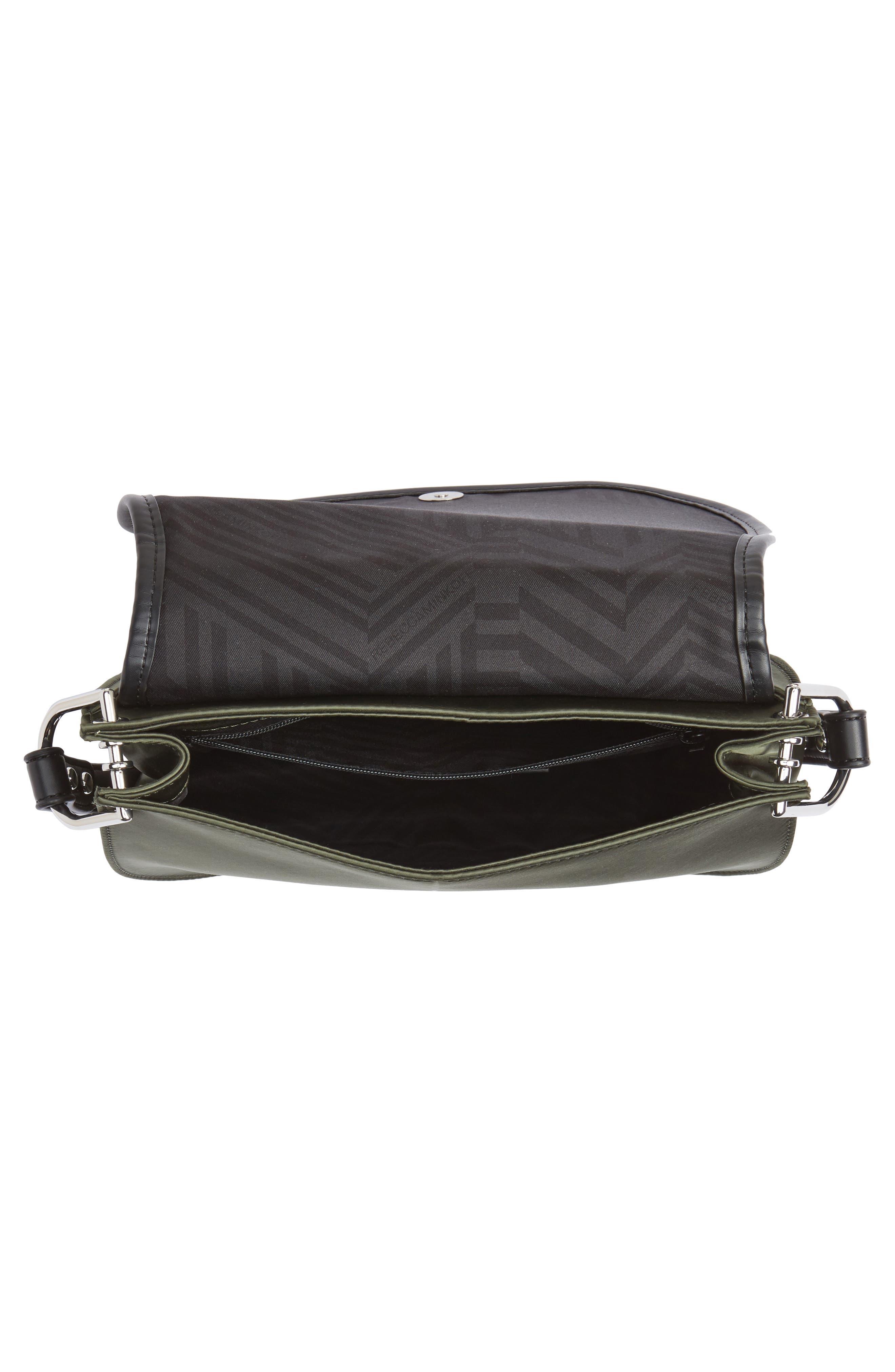 Alternate Image 4  - Rebecca Minkoff Military Satin Nylon Saddle Bag
