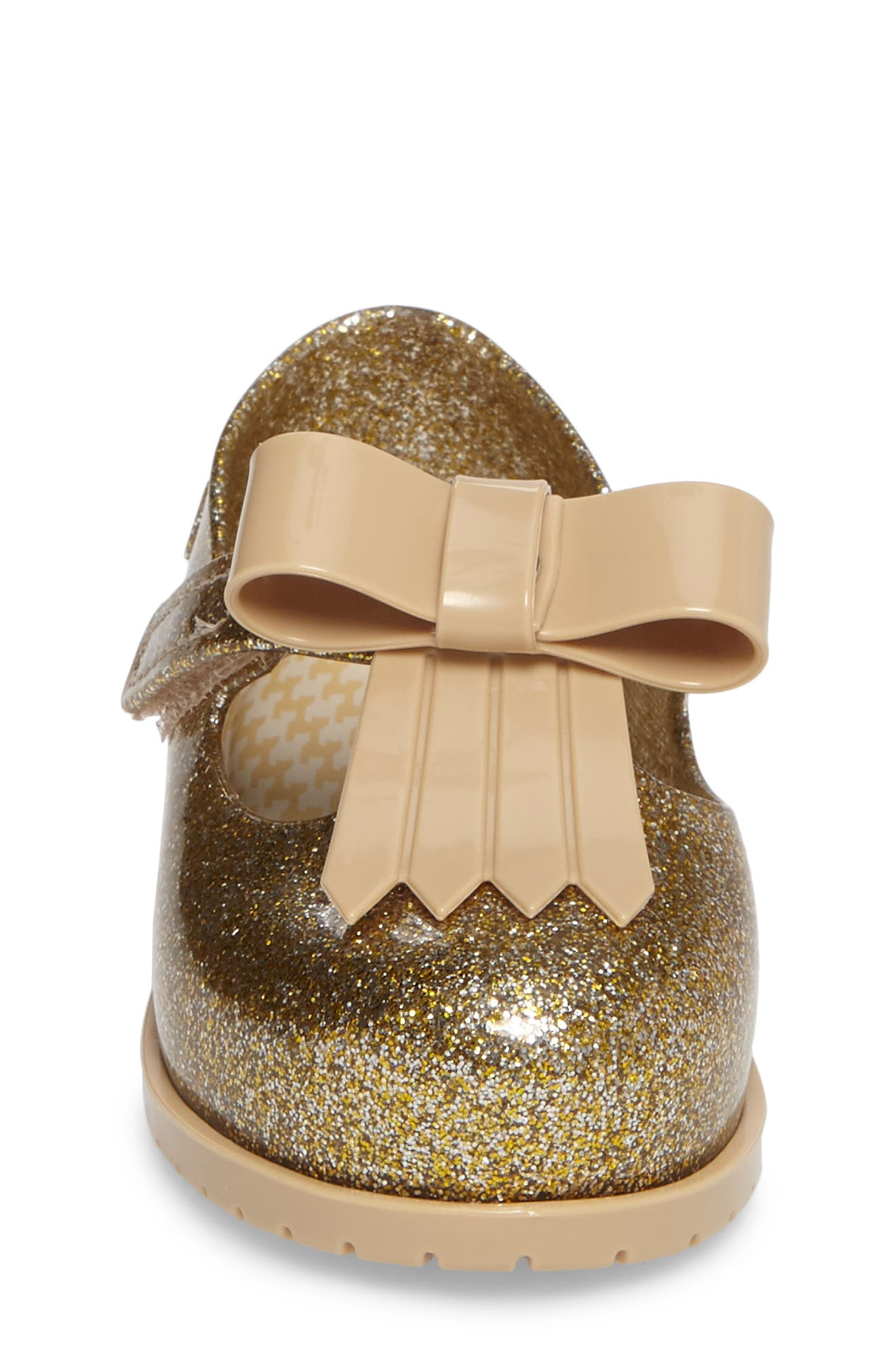 Classic Baby II Mary Jane,                             Alternate thumbnail 4, color,                             Gold Glass Glitter