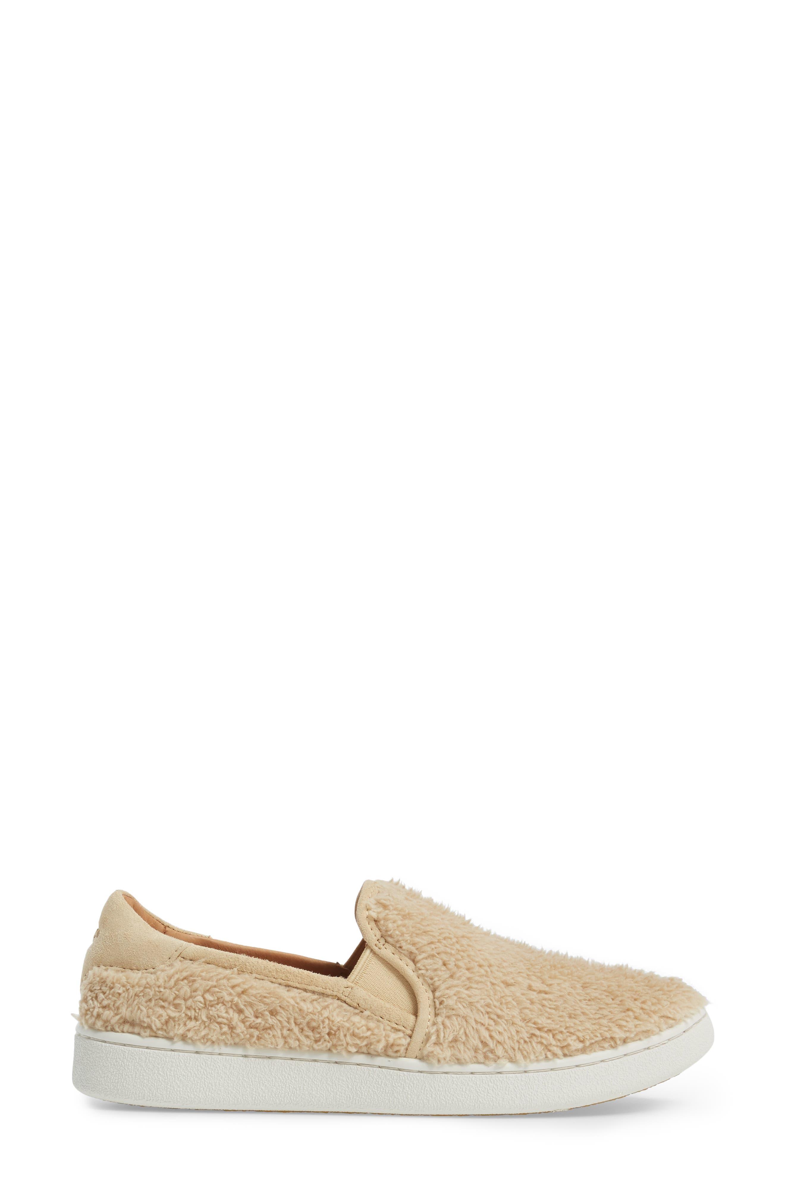 Alternate Image 3  - UGG® Ricci Plush Slip-On Sneaker (Women)