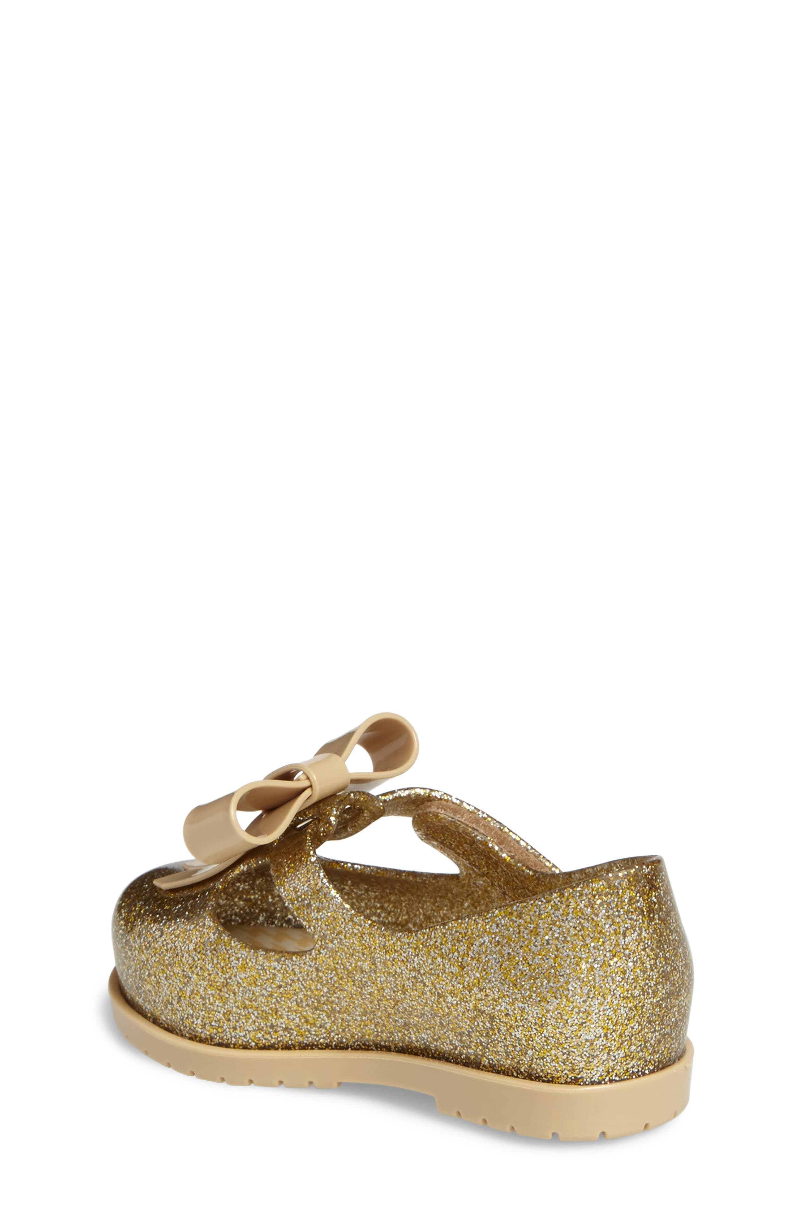 Classic Baby II Mary Jane,                             Alternate thumbnail 2, color,                             Gold Glass Glitter