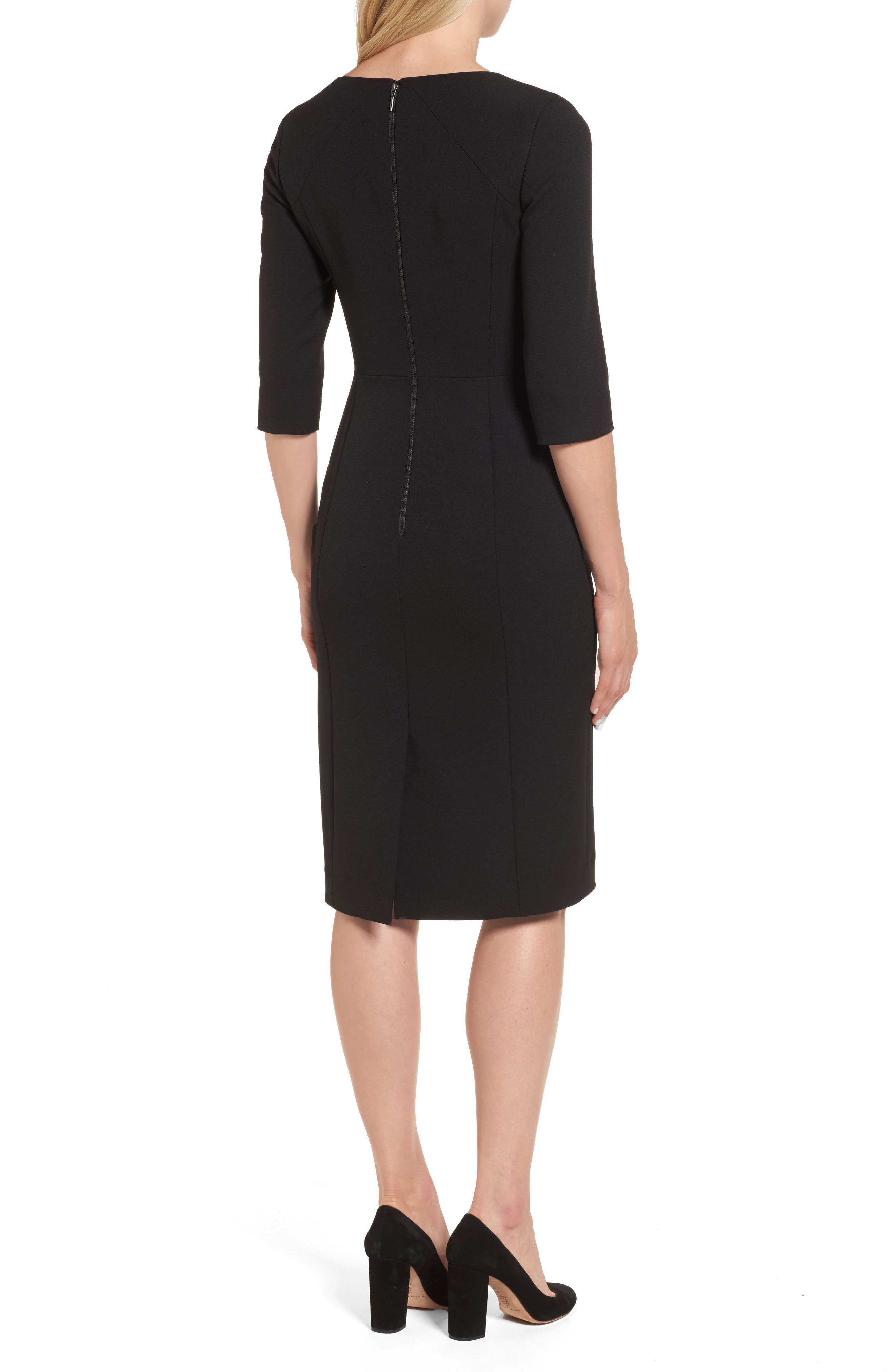 Alternate Image 2  - Emerson Rose Stretch Sheath Dress