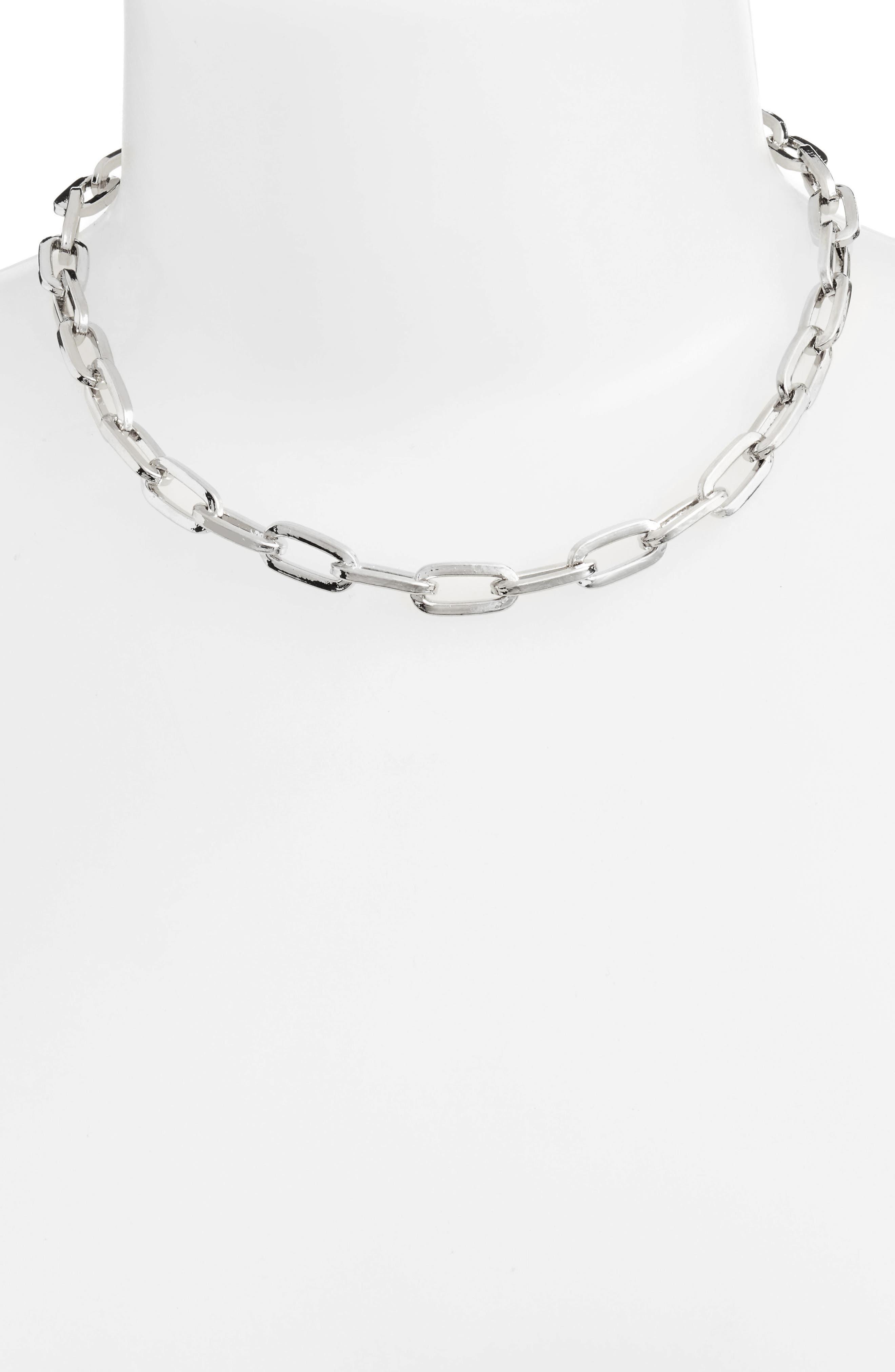 Alternate Image 1 Selected - Rebecca Minkoff Signature Link Necklace