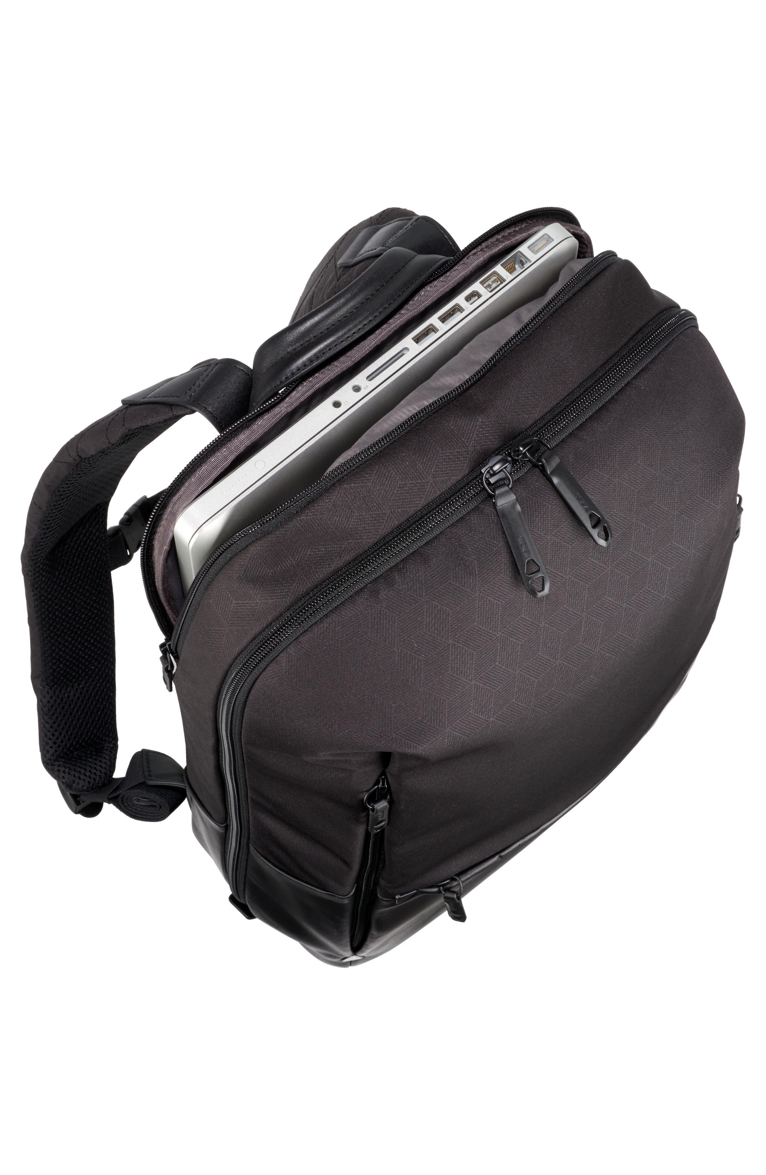 Butler Backpack,                             Alternate thumbnail 4, color,                             Black