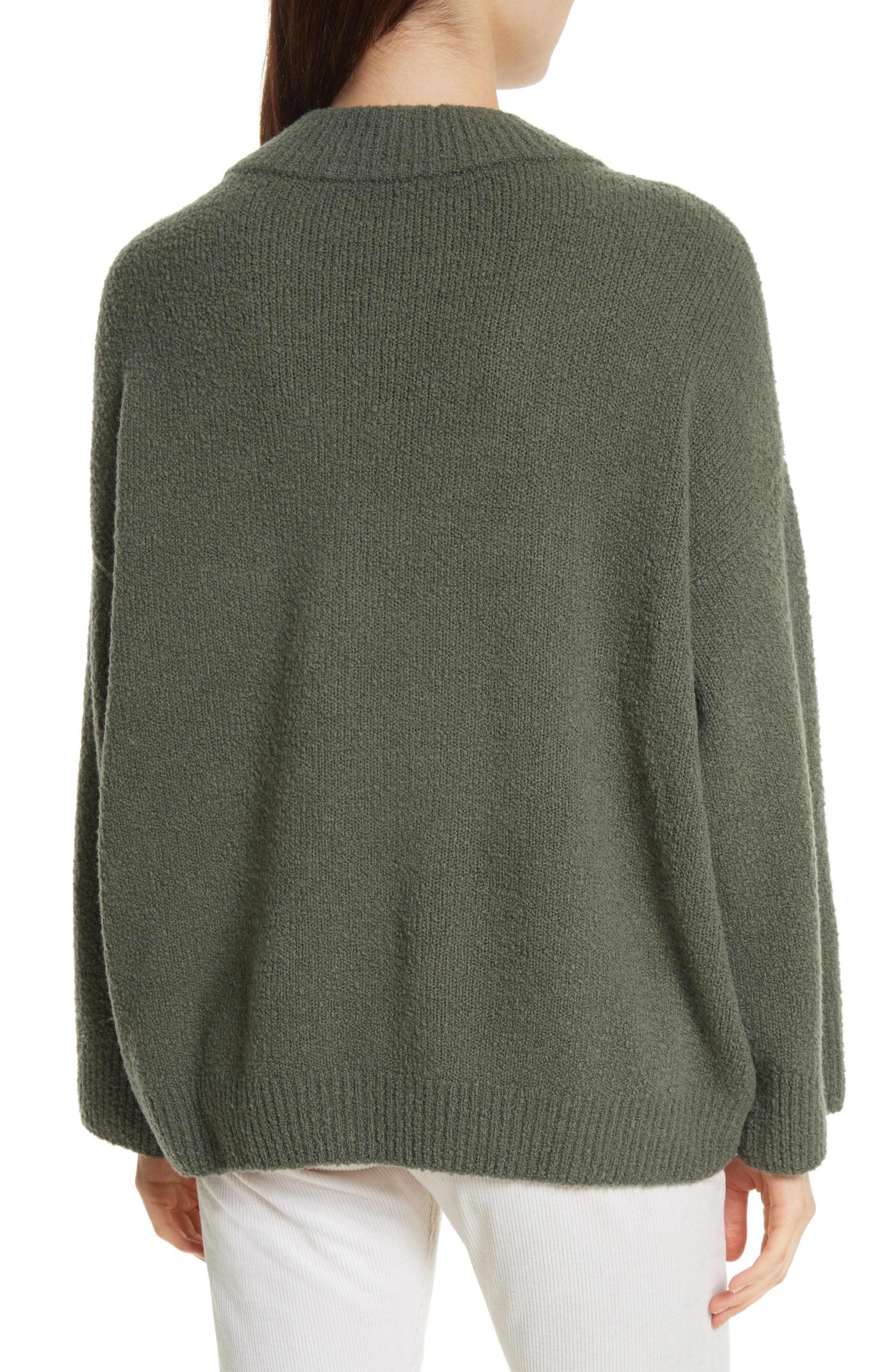 Boxy Knit Pullover,                             Alternate thumbnail 2, color,                             Frog