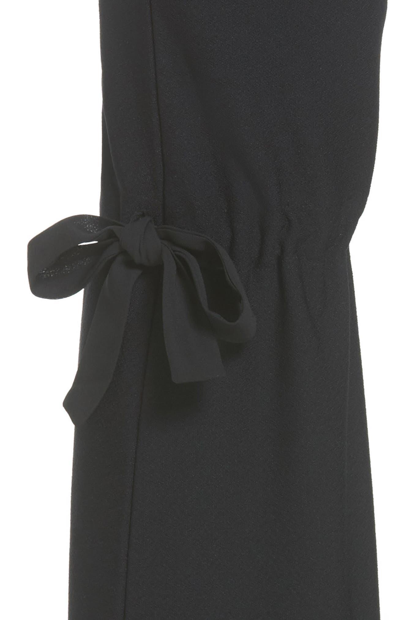 Arcadia High Waist Pants,                             Alternate thumbnail 5, color,                             Black