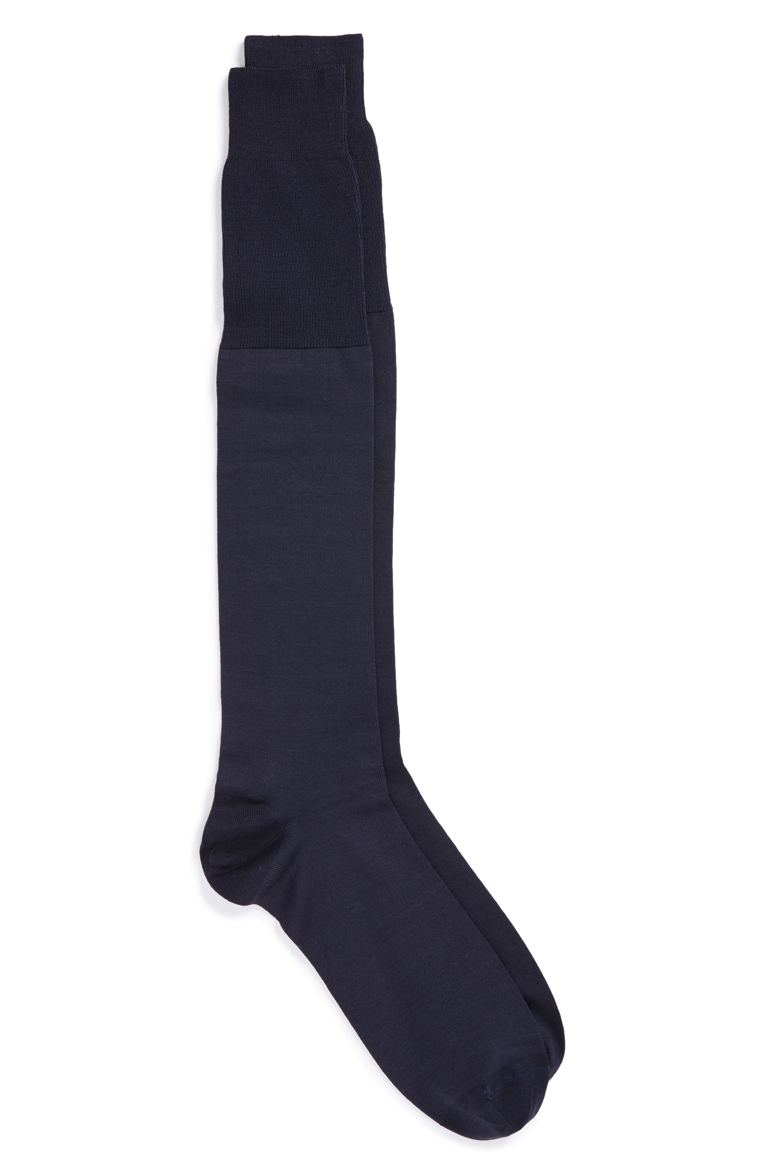 John W. Nordstrom Solid Over the Calf Socks