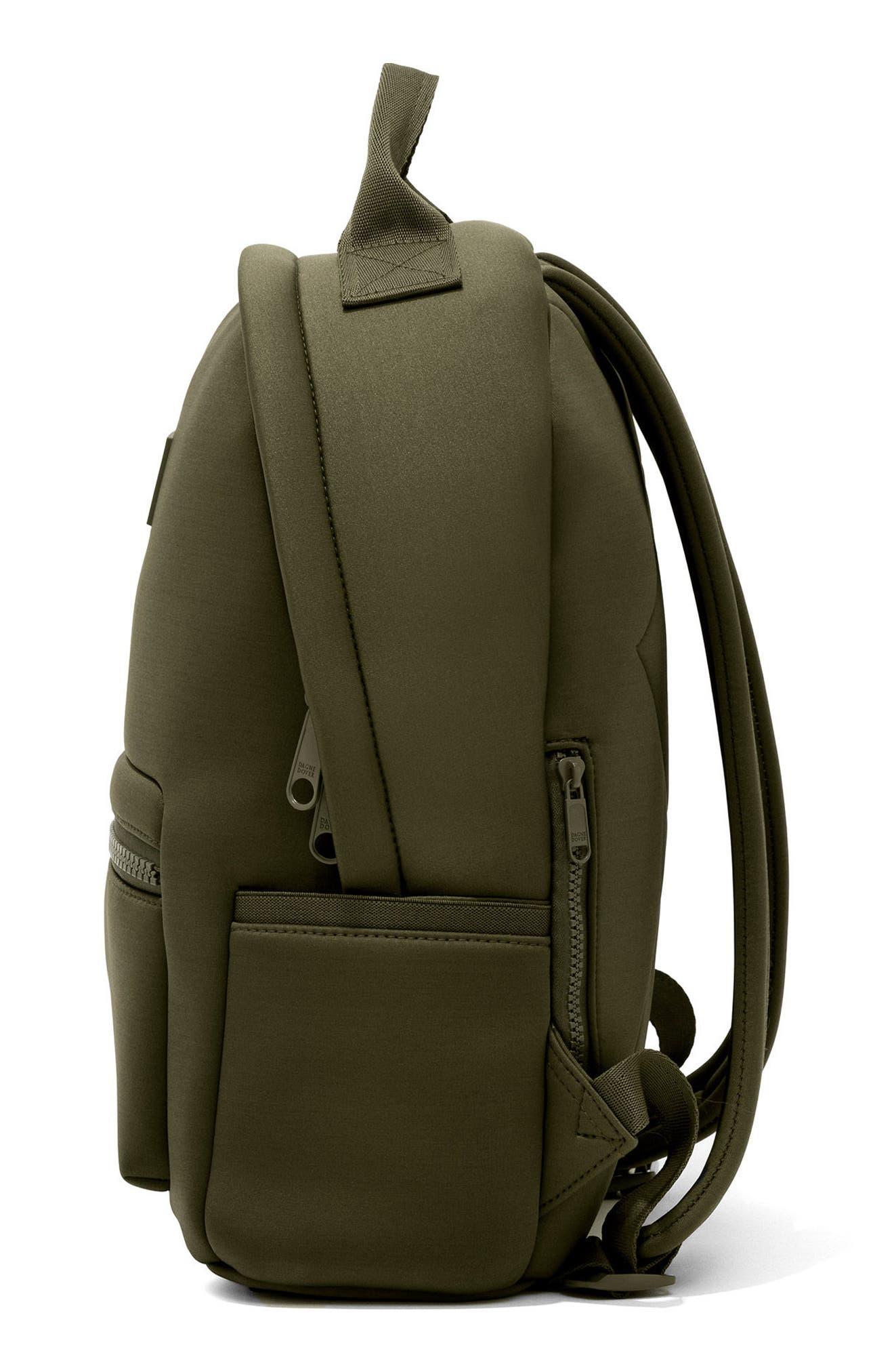365 Dakota Neoprene Backpack,                             Alternate thumbnail 4, color,                             Dark Moss