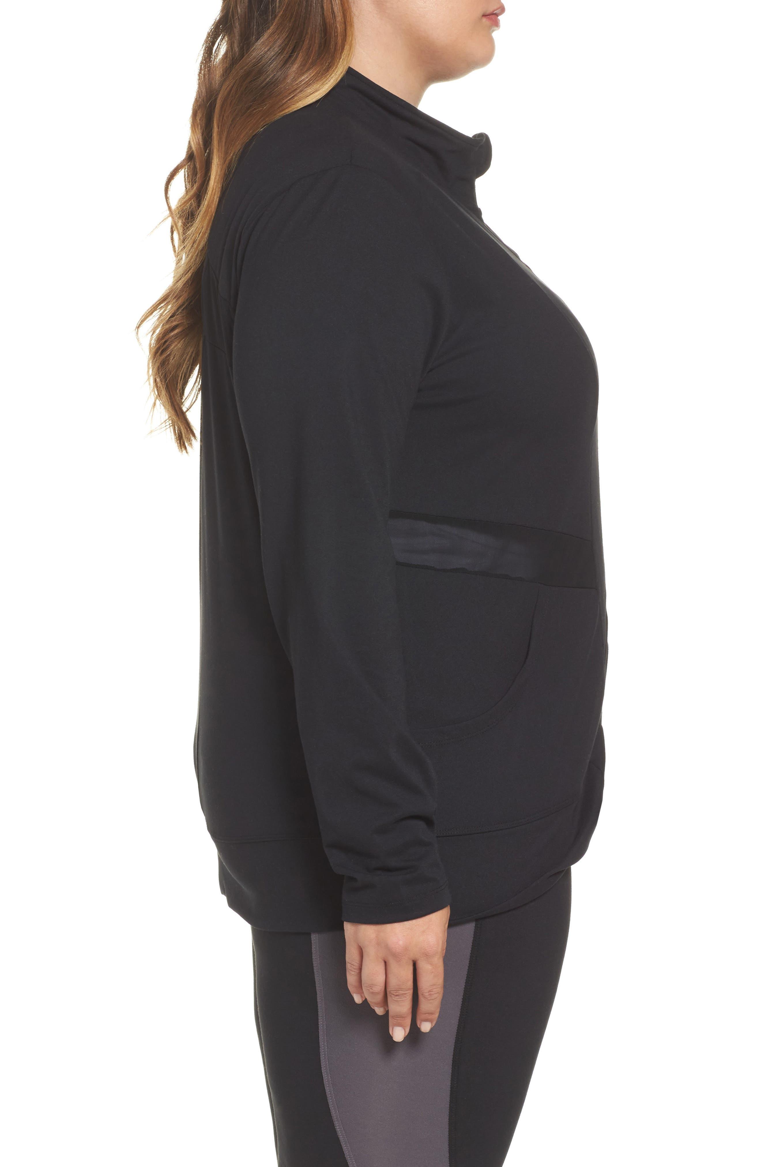 Alternate Image 3  - Marika Curves Adrenaline Jacket (Plus Size)