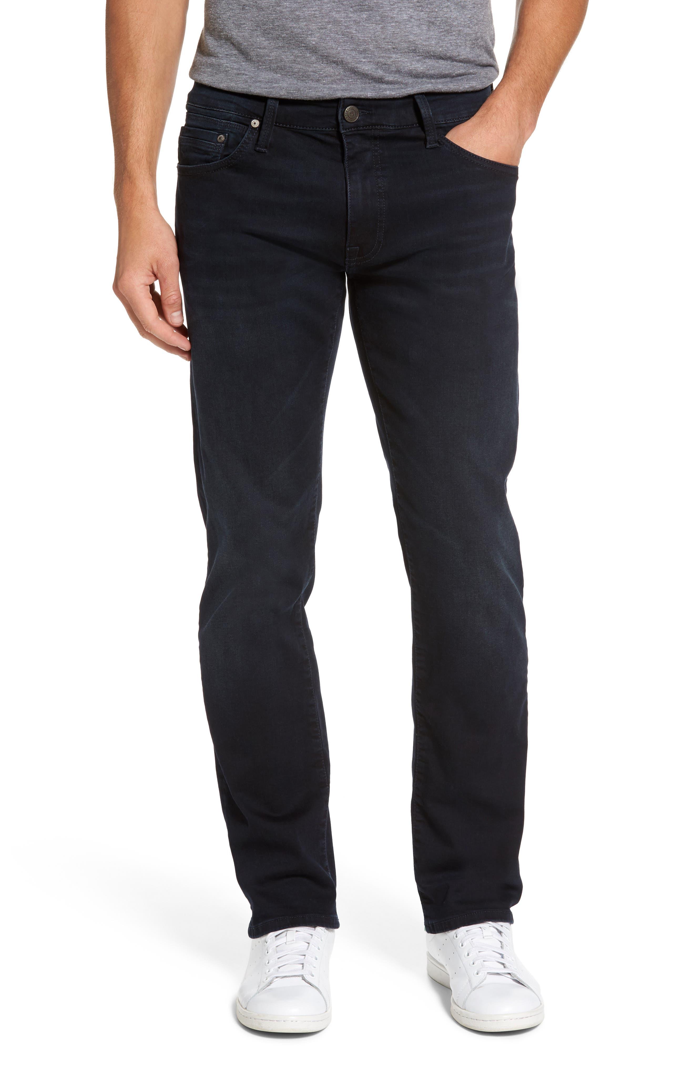 Alternate Image 1 Selected - Mavi Jeans Zach Straight Leg Jeans (Brushed Williamsburg)