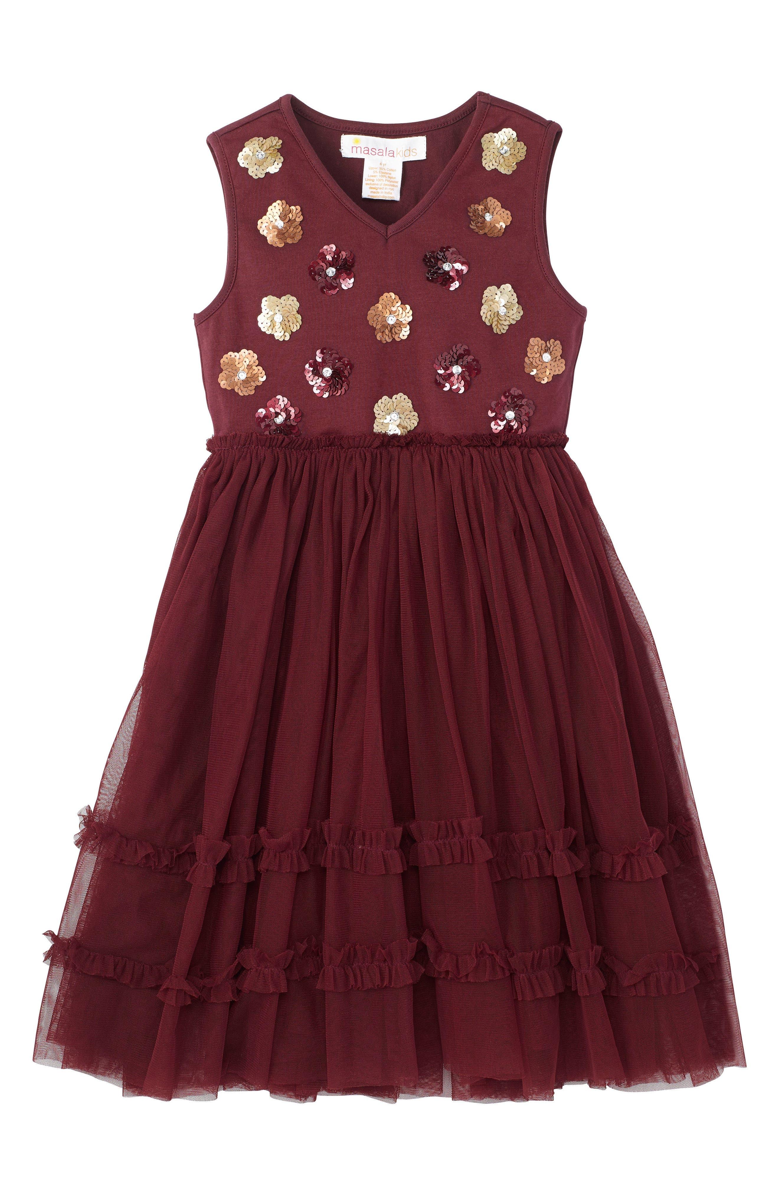 Alternate Image 1 Selected - Masalababy Liana Dress (Toddler Girls, Little Girls & Big Girls)