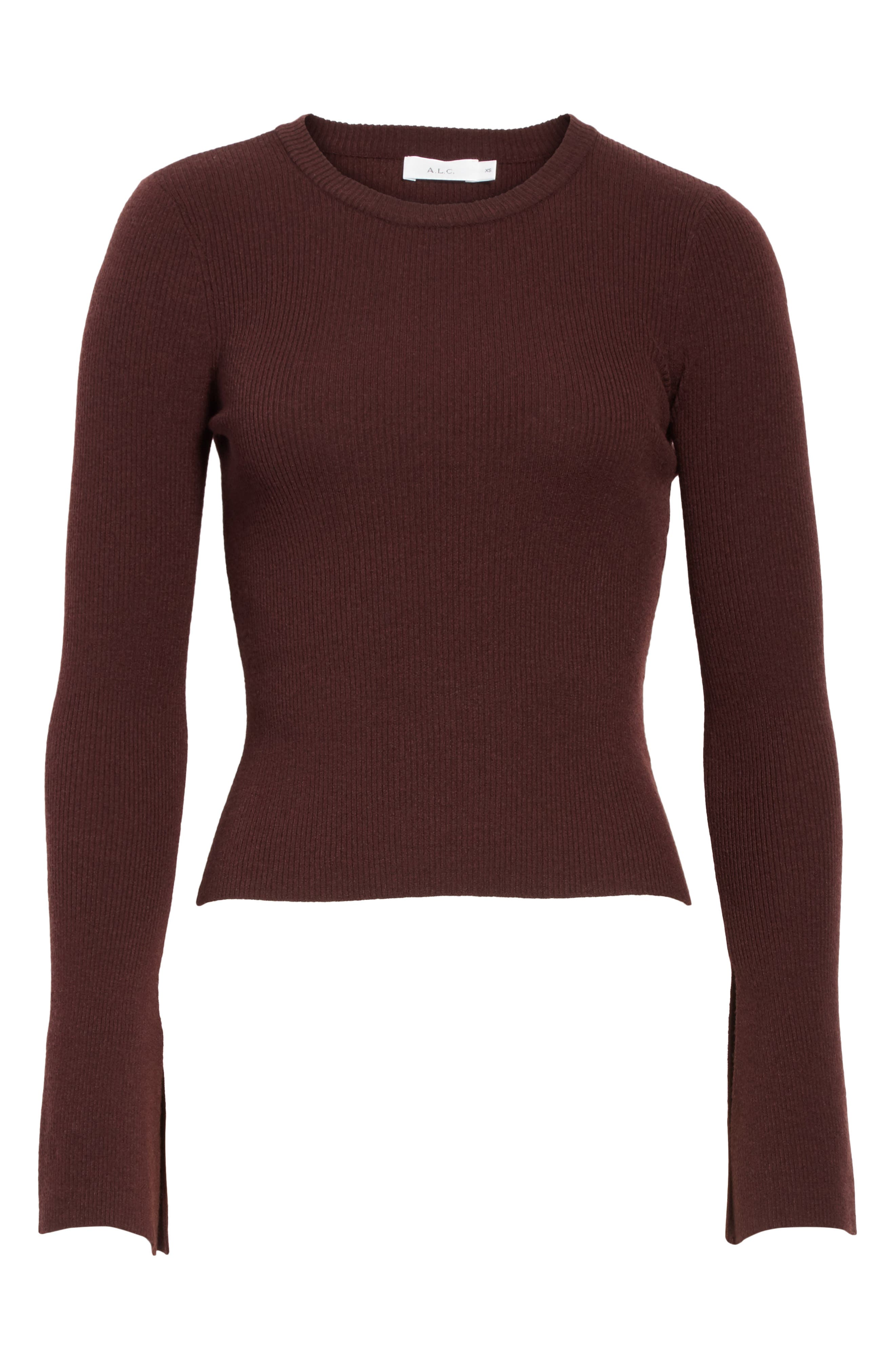Alternate Image 6  - A.L.C. Lewis Merino Wool Blend Sweater