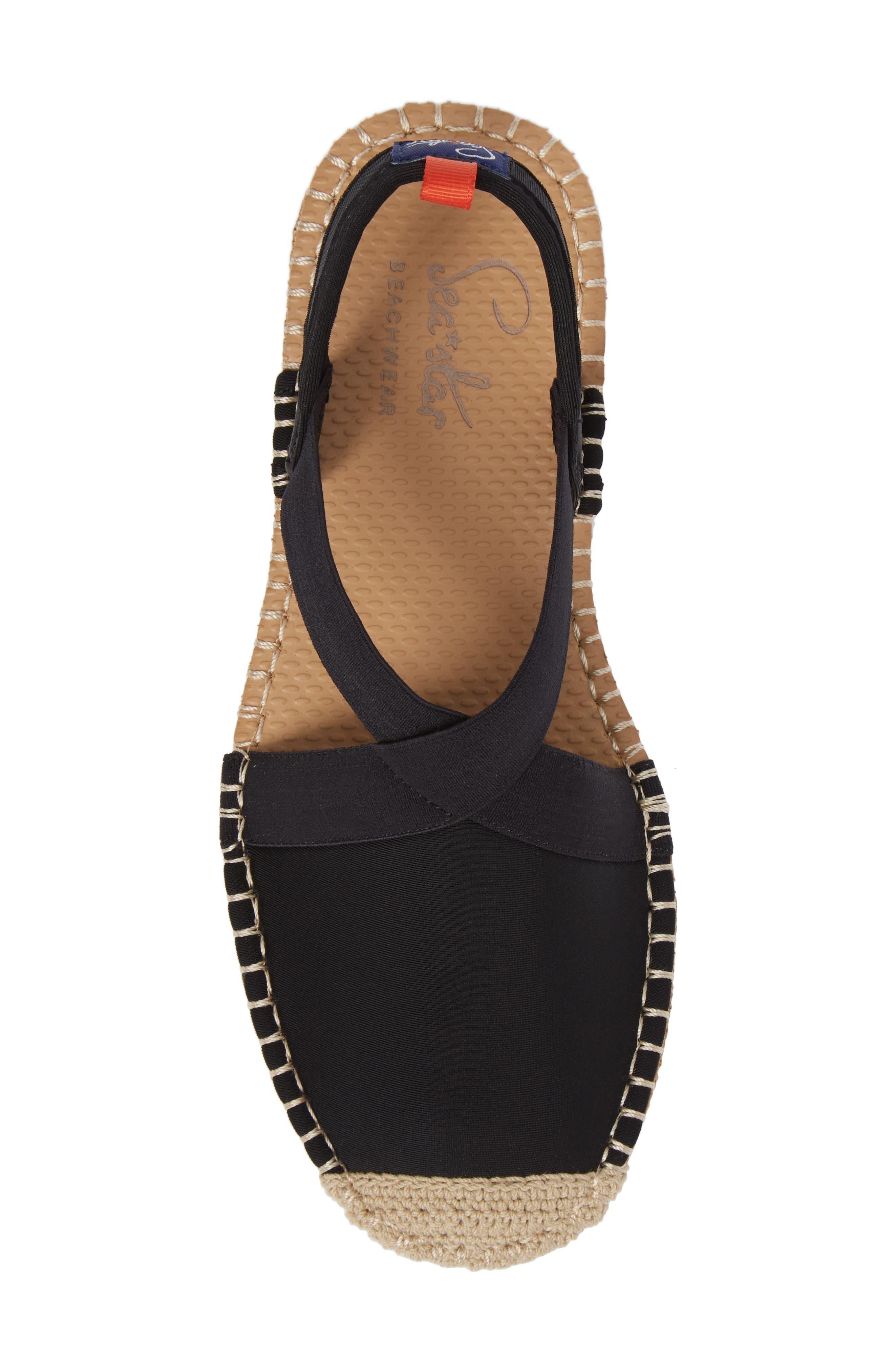 Alternate Image 5  - Sea Star Slingback Espadrille Water Shoe (Women)