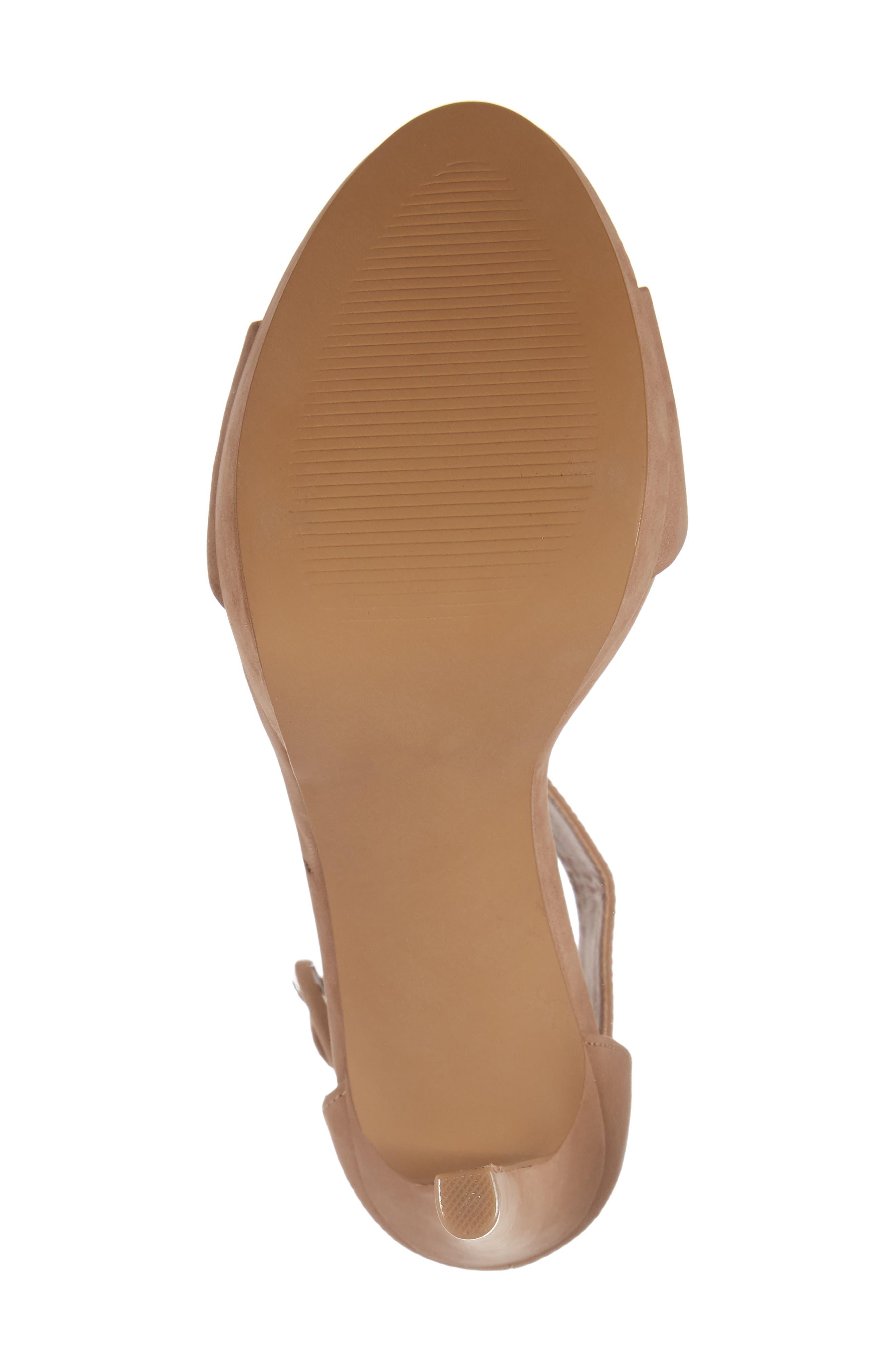 Circuit Sandal,                             Alternate thumbnail 6, color,                             Tan Nubuck Leather