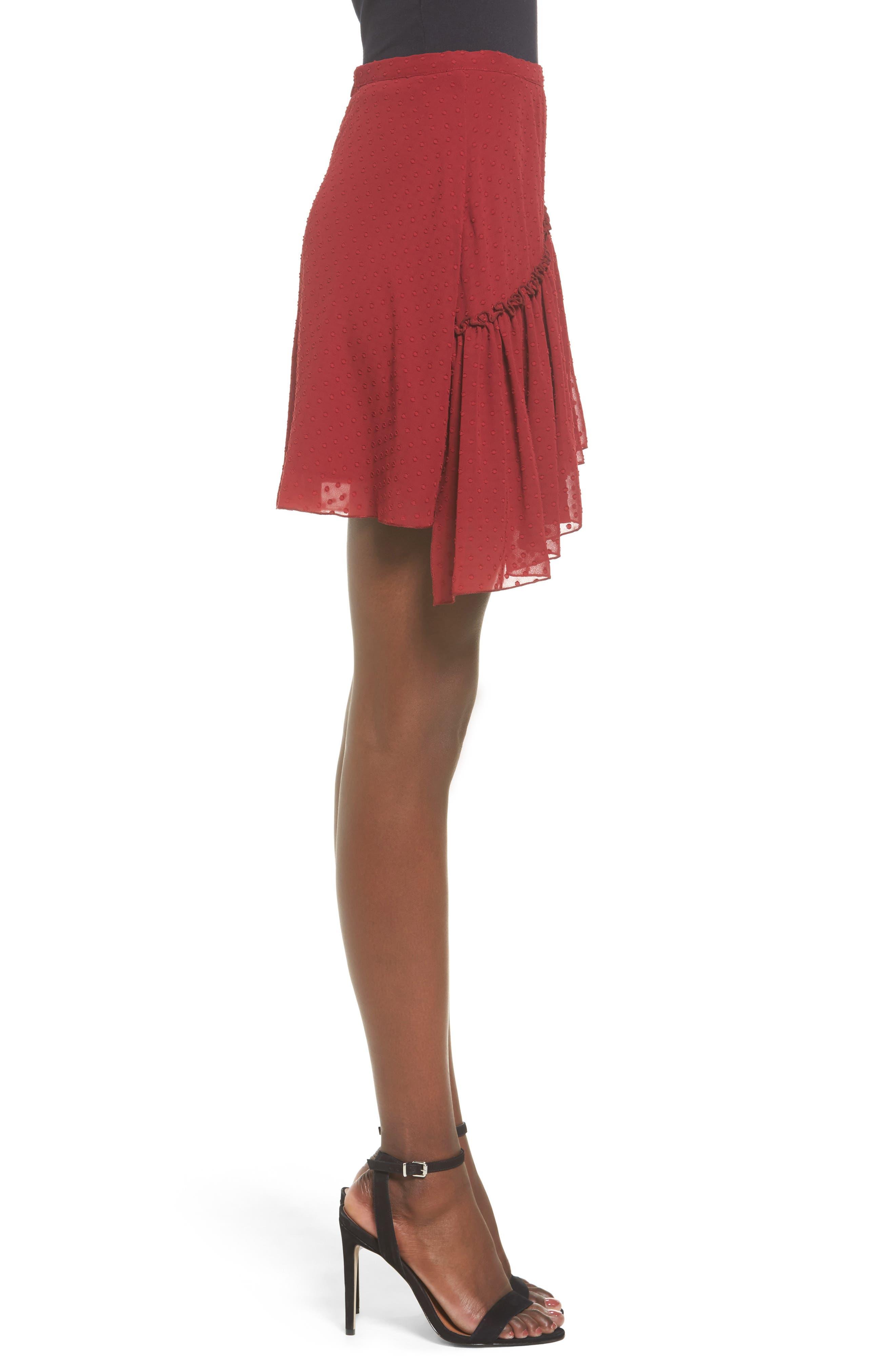 Alternate Image 5  - The Fifth Label Swiss Dot Ruffle Skirt