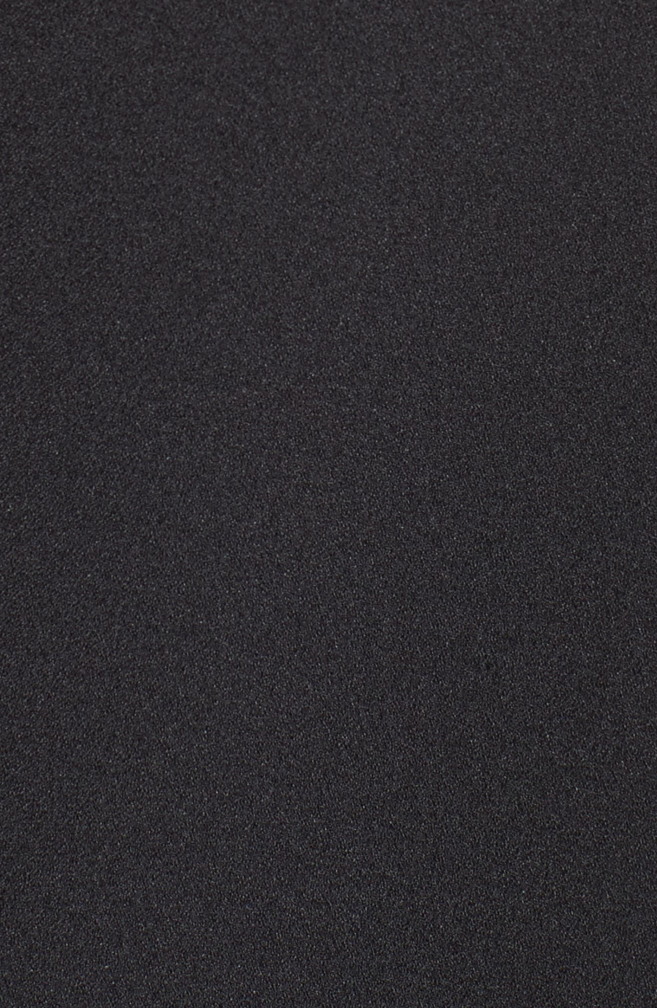 Alternate Image 5  - Eliza J Crepe Fit & Flare Dress (Regular & Petite)