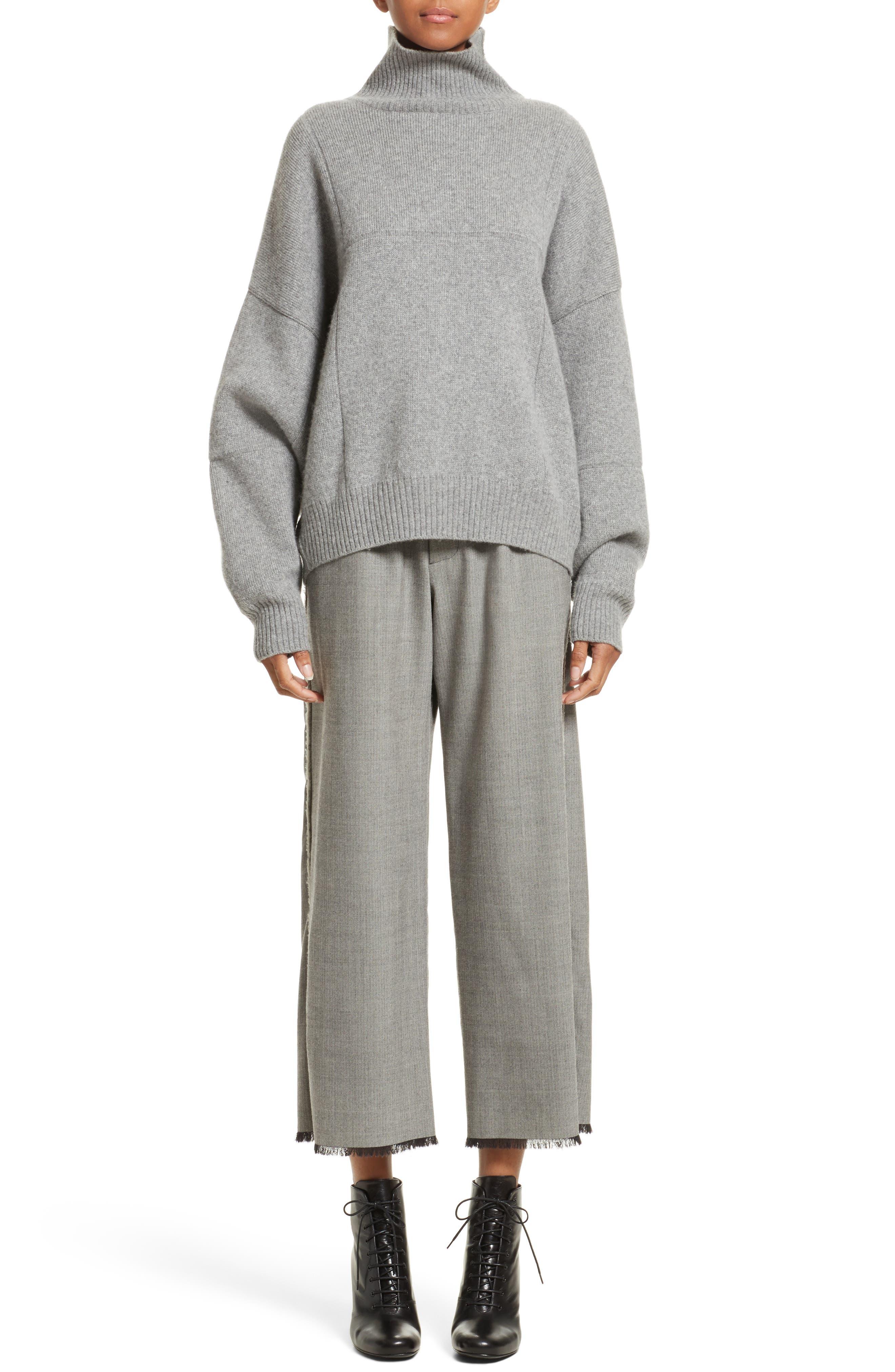 Alternate Image 6  - Vejas Concrete Wool Turtleneck Sweater