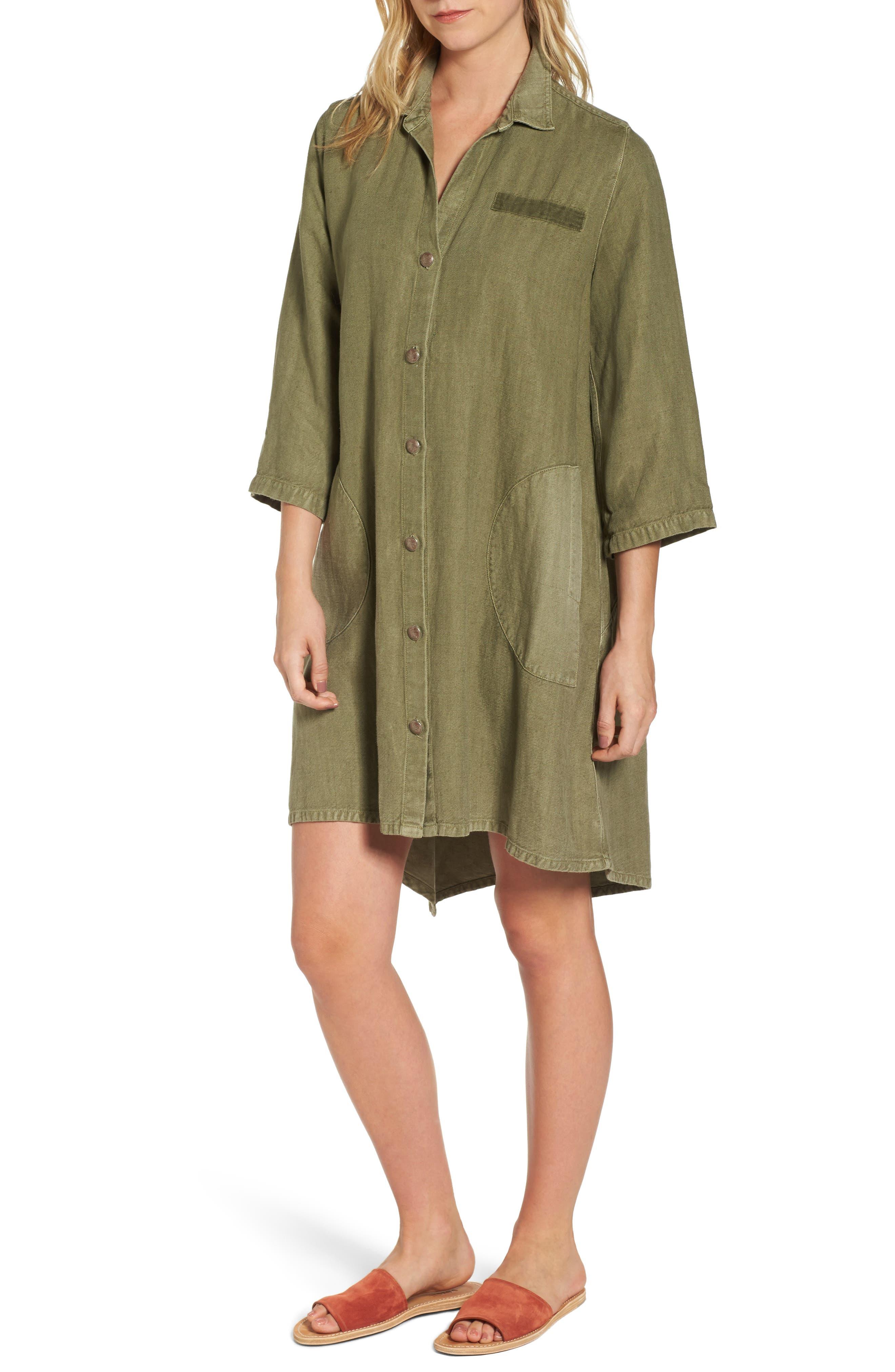 Alternate Image 1 Selected - AG Eva Swing Dress