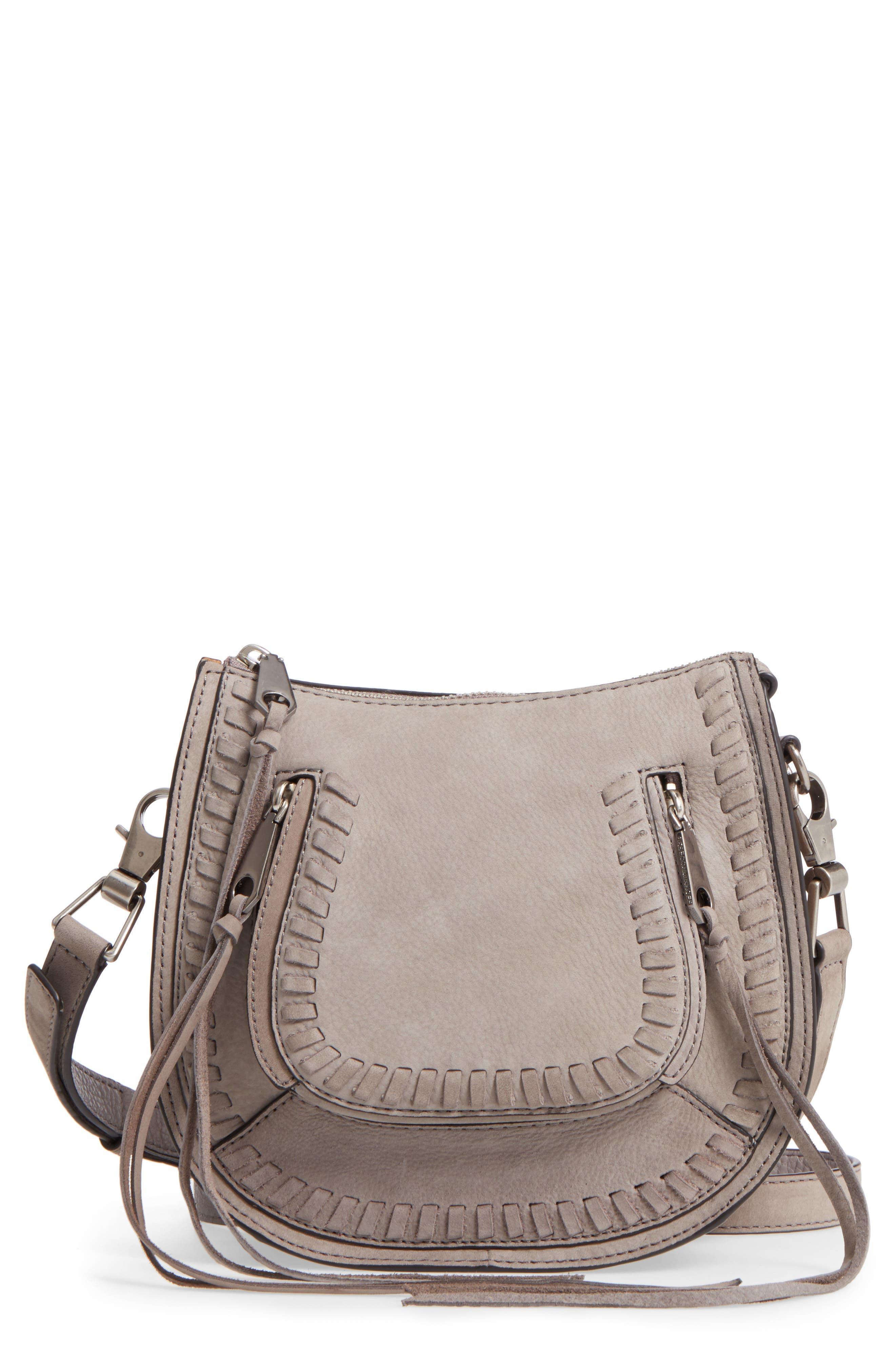 Main Image - Rebecca Minkoff Mini Vanity Saddle Bag
