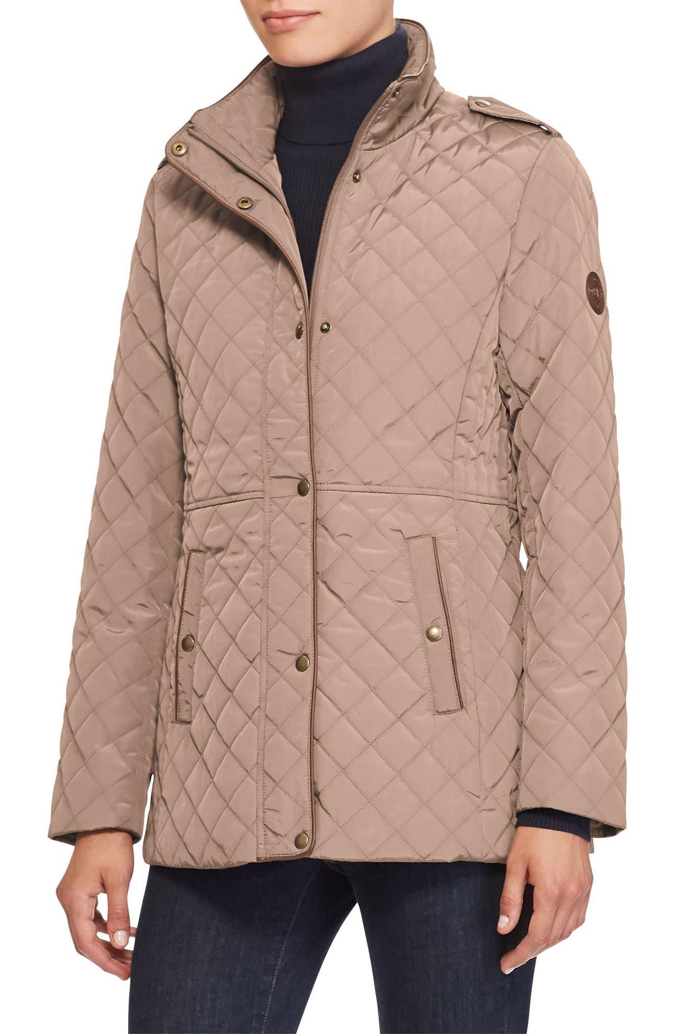 Alternate Image 1 Selected - Lauren Ralph Lauren Quilted Field Jacket