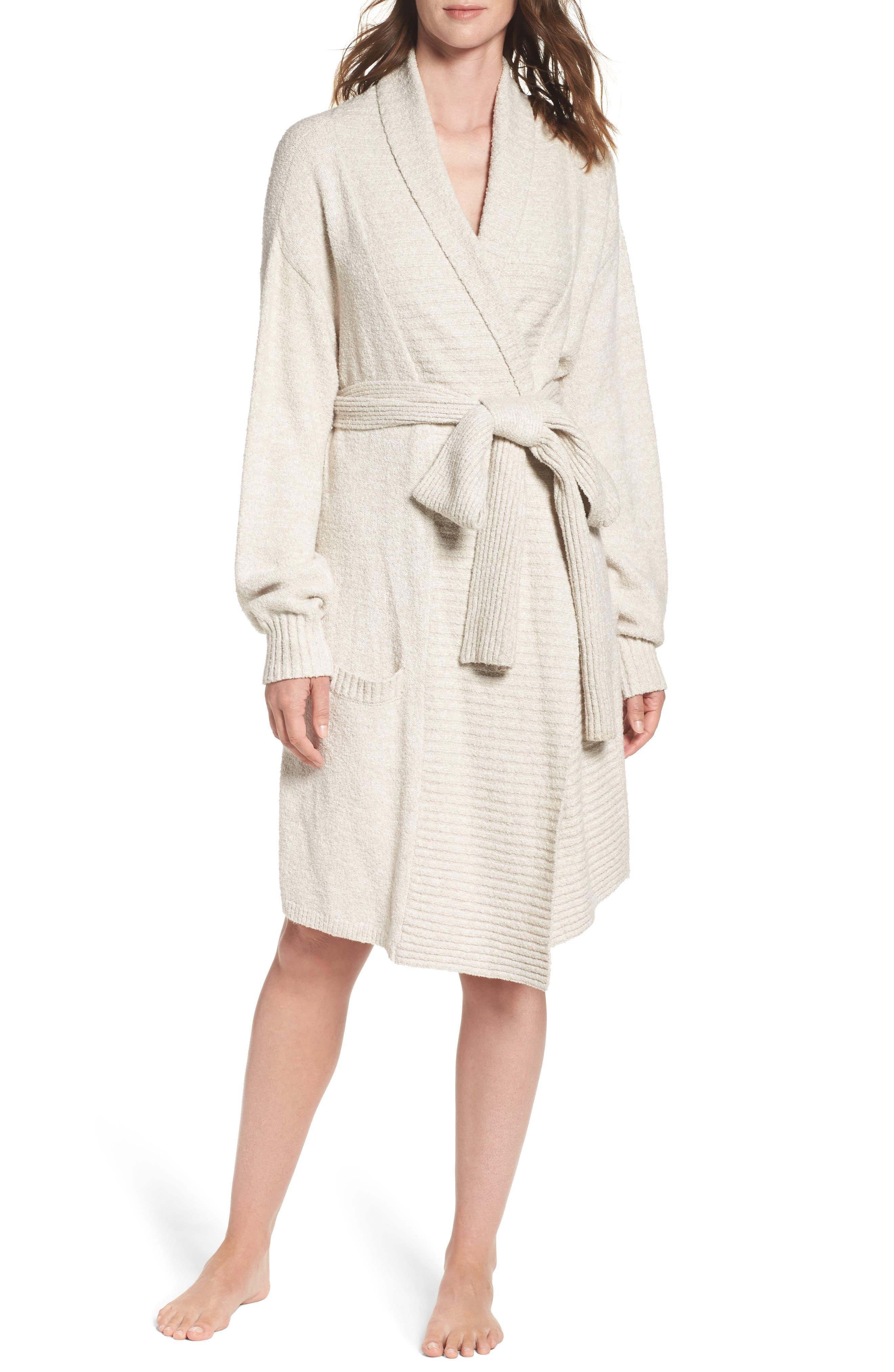 Alternate Image 1 Selected - skin Britta Plush Robe