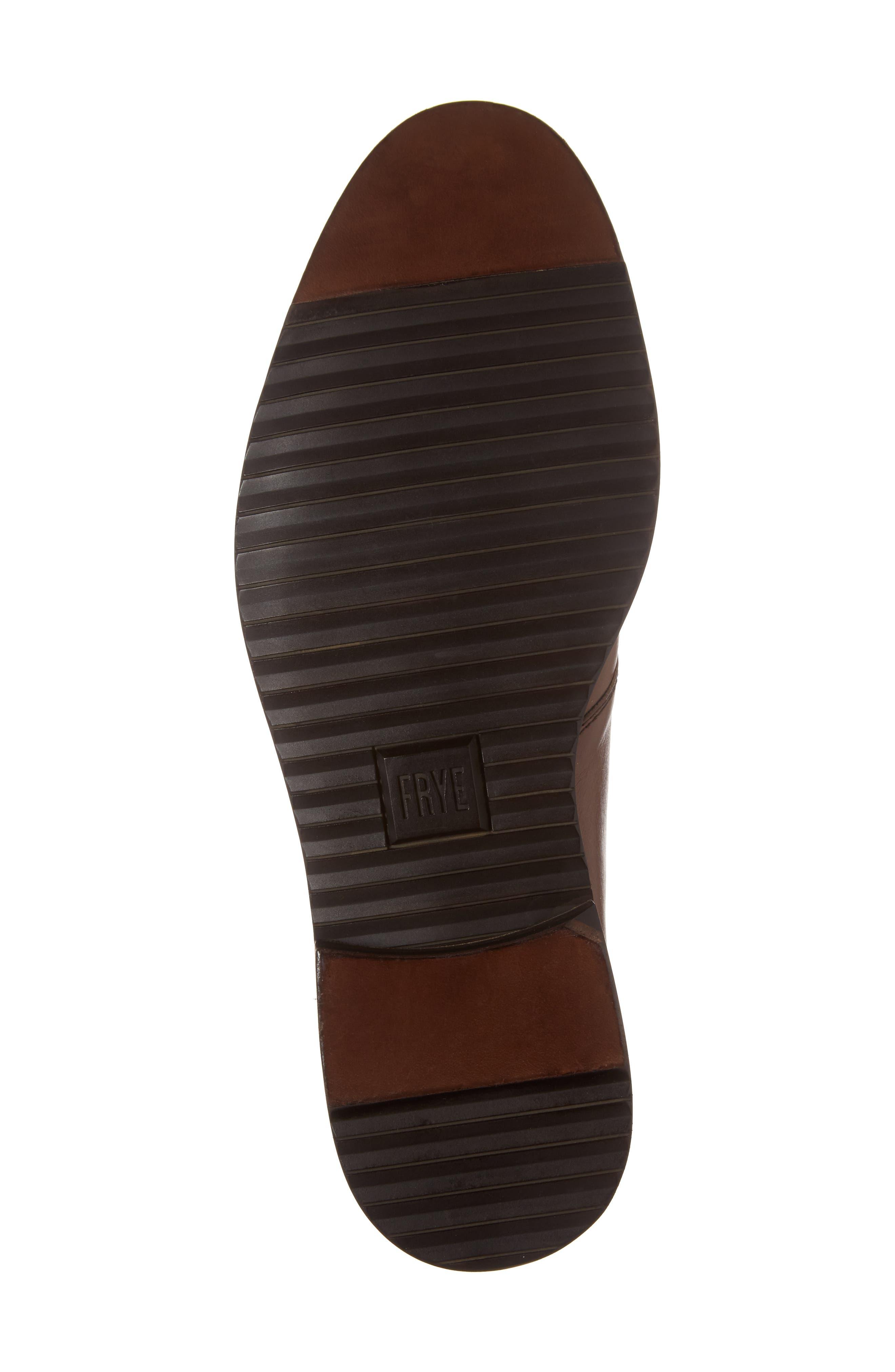 Sam Chukka Boot,                             Alternate thumbnail 6, color,                             Cognac Leather