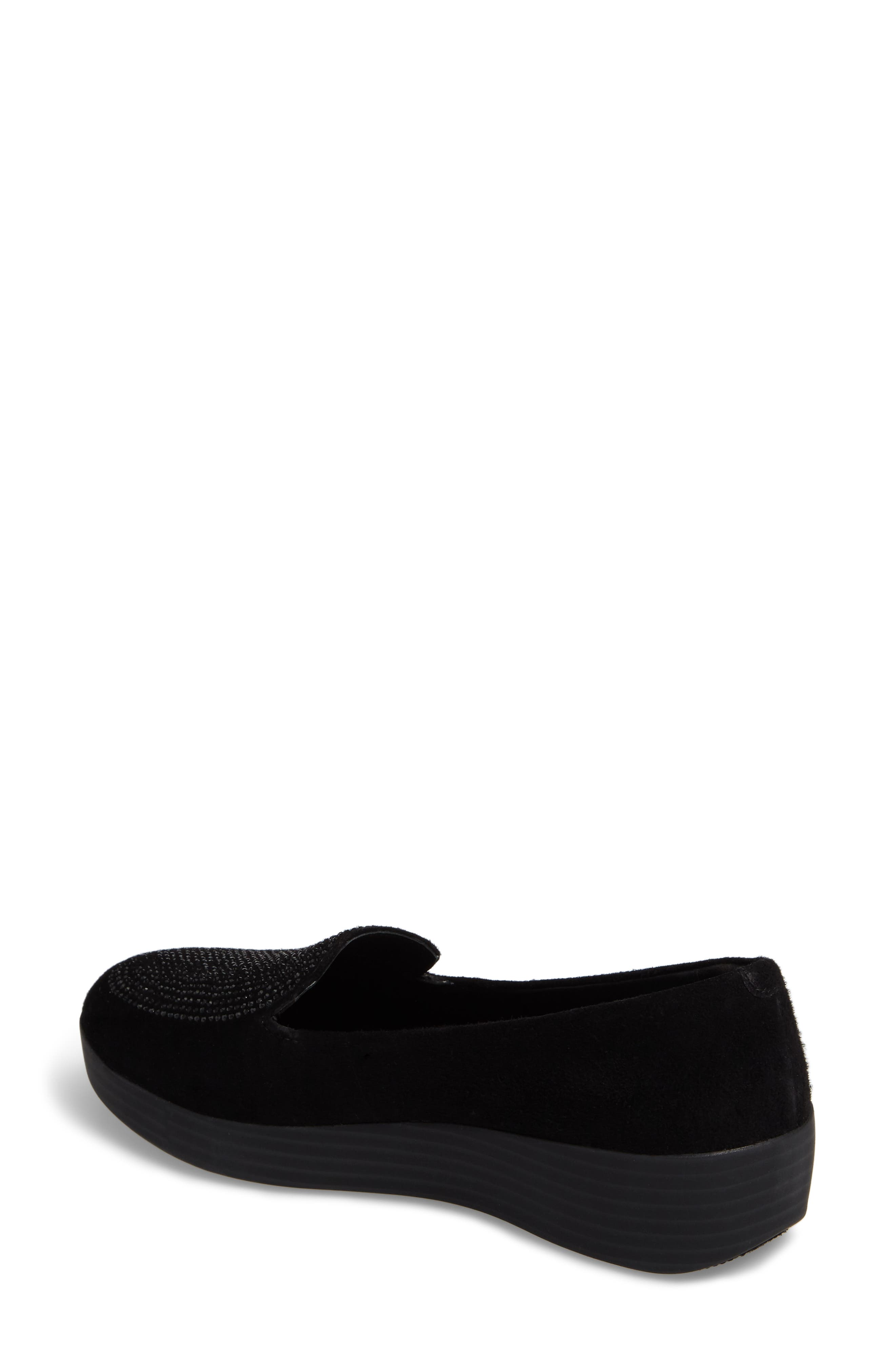 Alternate Image 2  - FitFlop Sparkly Sneakerloafer Slip-On (Women)