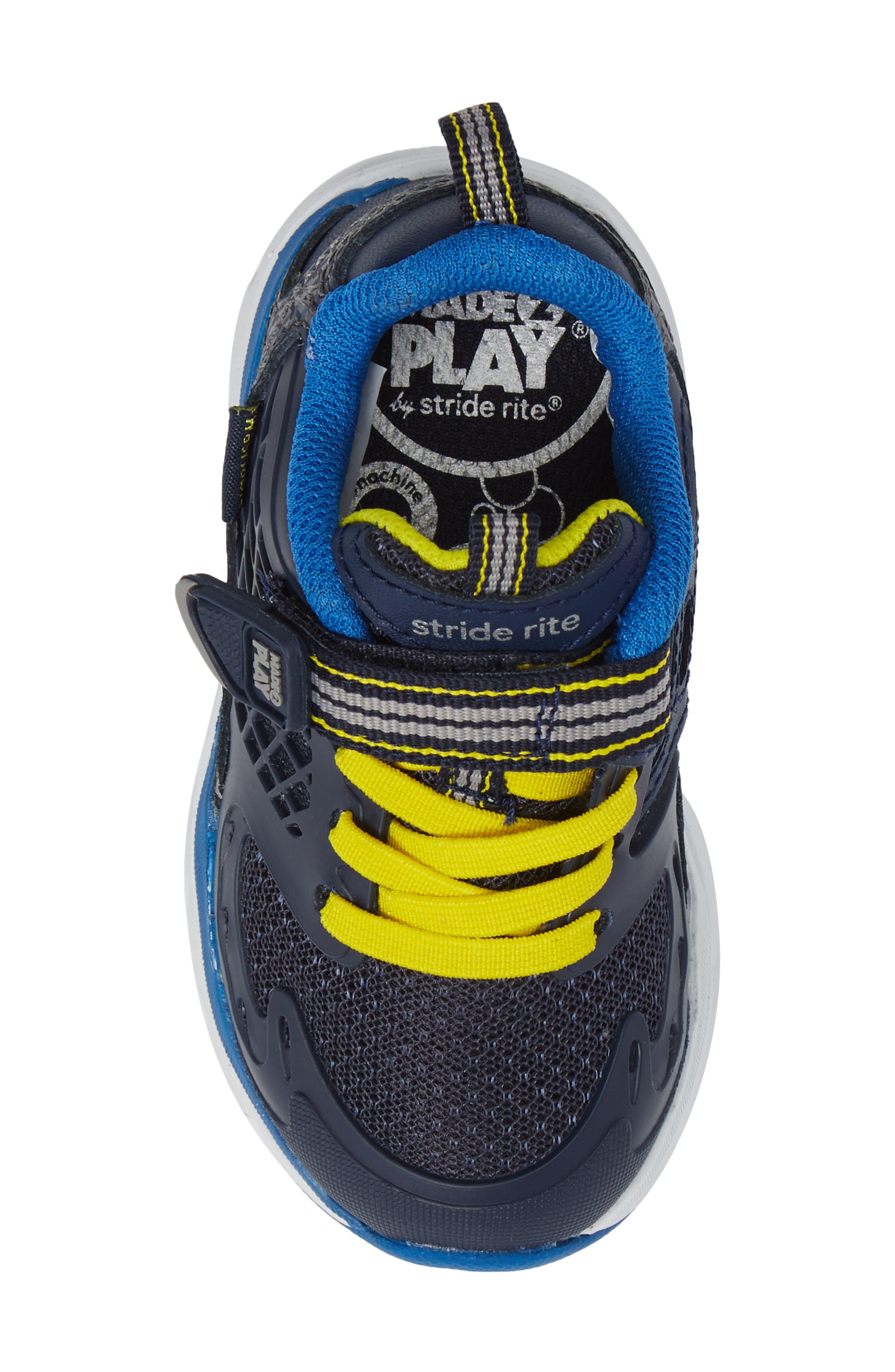Made 2 Play Breccen Sneaker,                             Alternate thumbnail 5, color,                             Navy