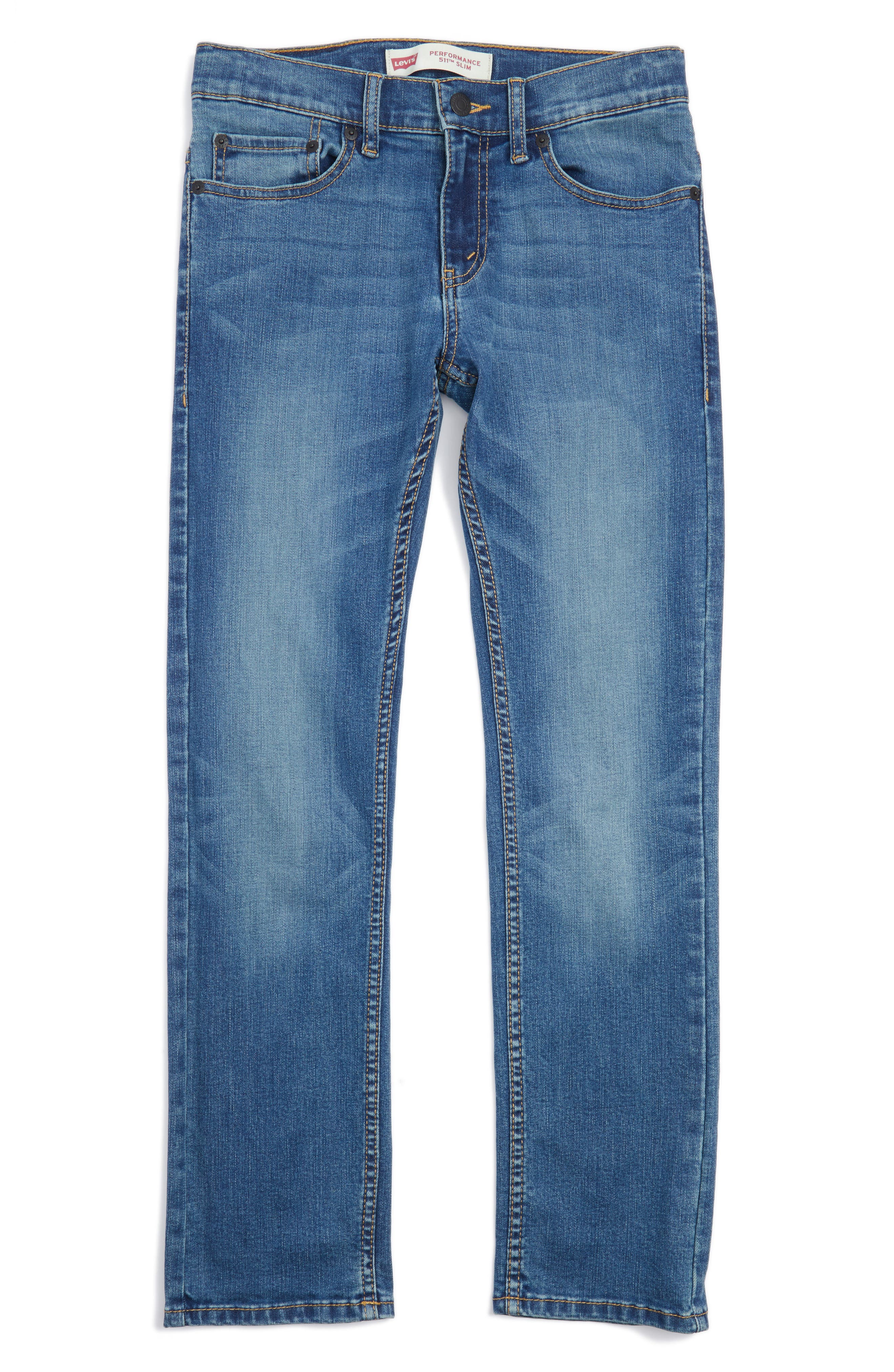 '511<sup>™</sup>' Slim Fit Jeans,                         Main,                         color, Obsidian