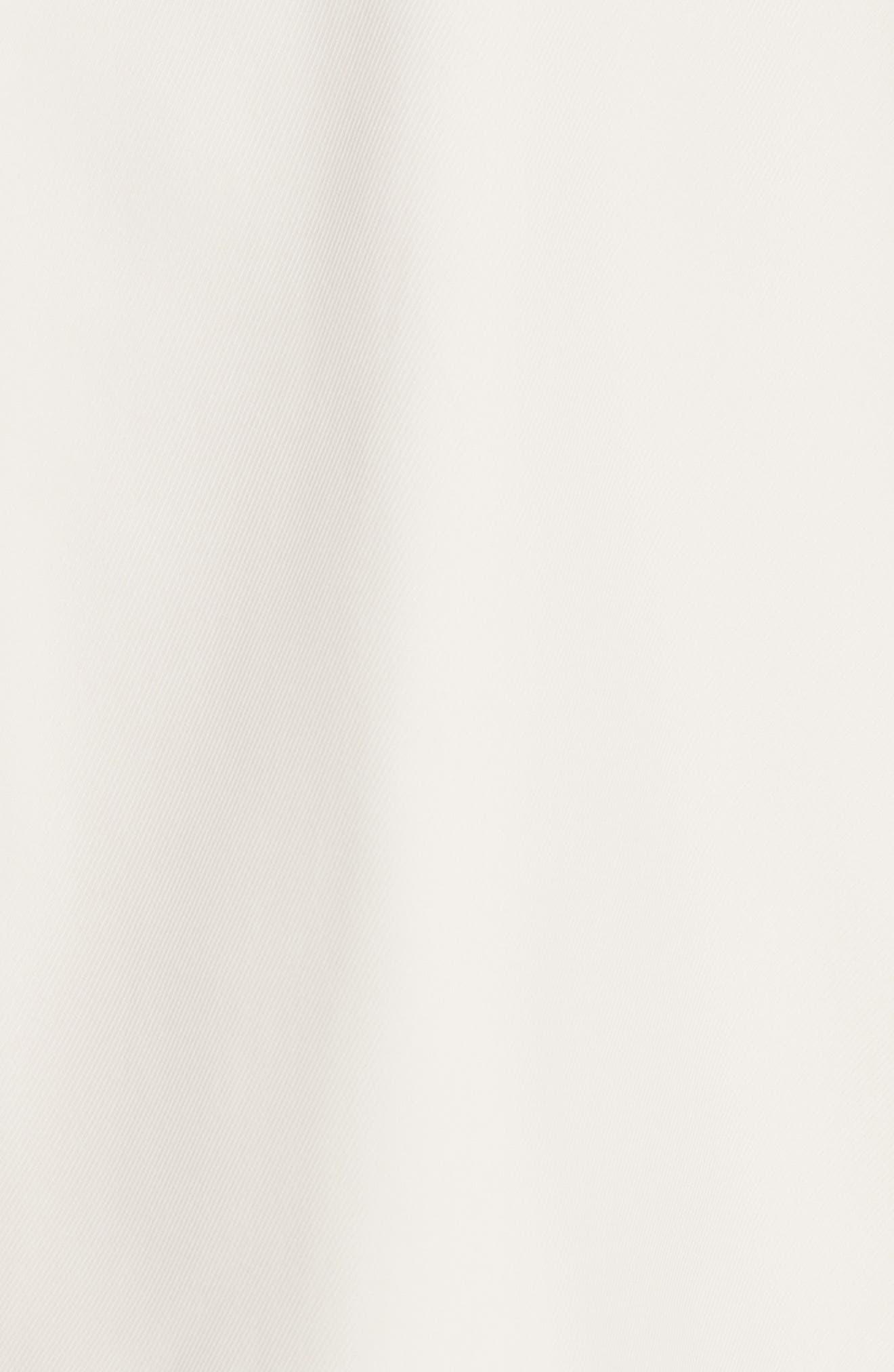 Trench Moto Jacket,                             Alternate thumbnail 5, color,                             Oatmeal