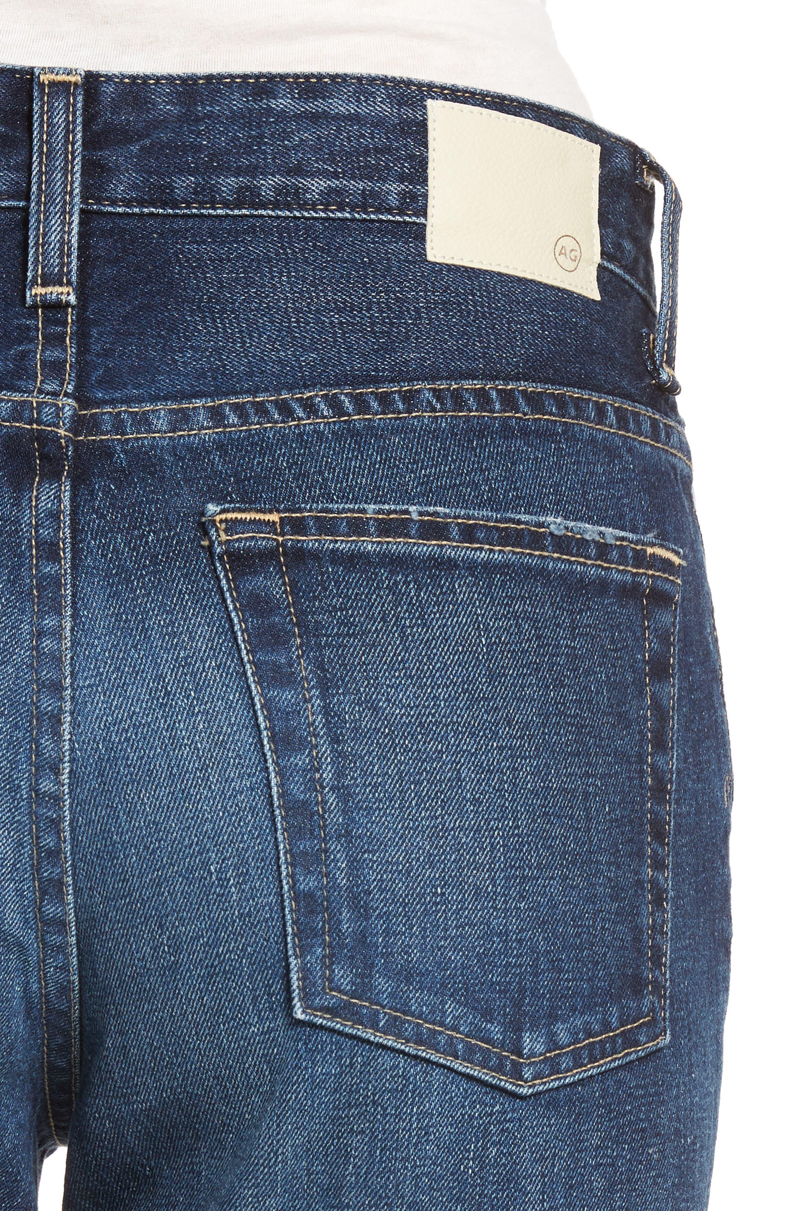 The Rhett Vintage High Waist Crop Jeans,                             Alternate thumbnail 6, color,                             11 Years Jubilee