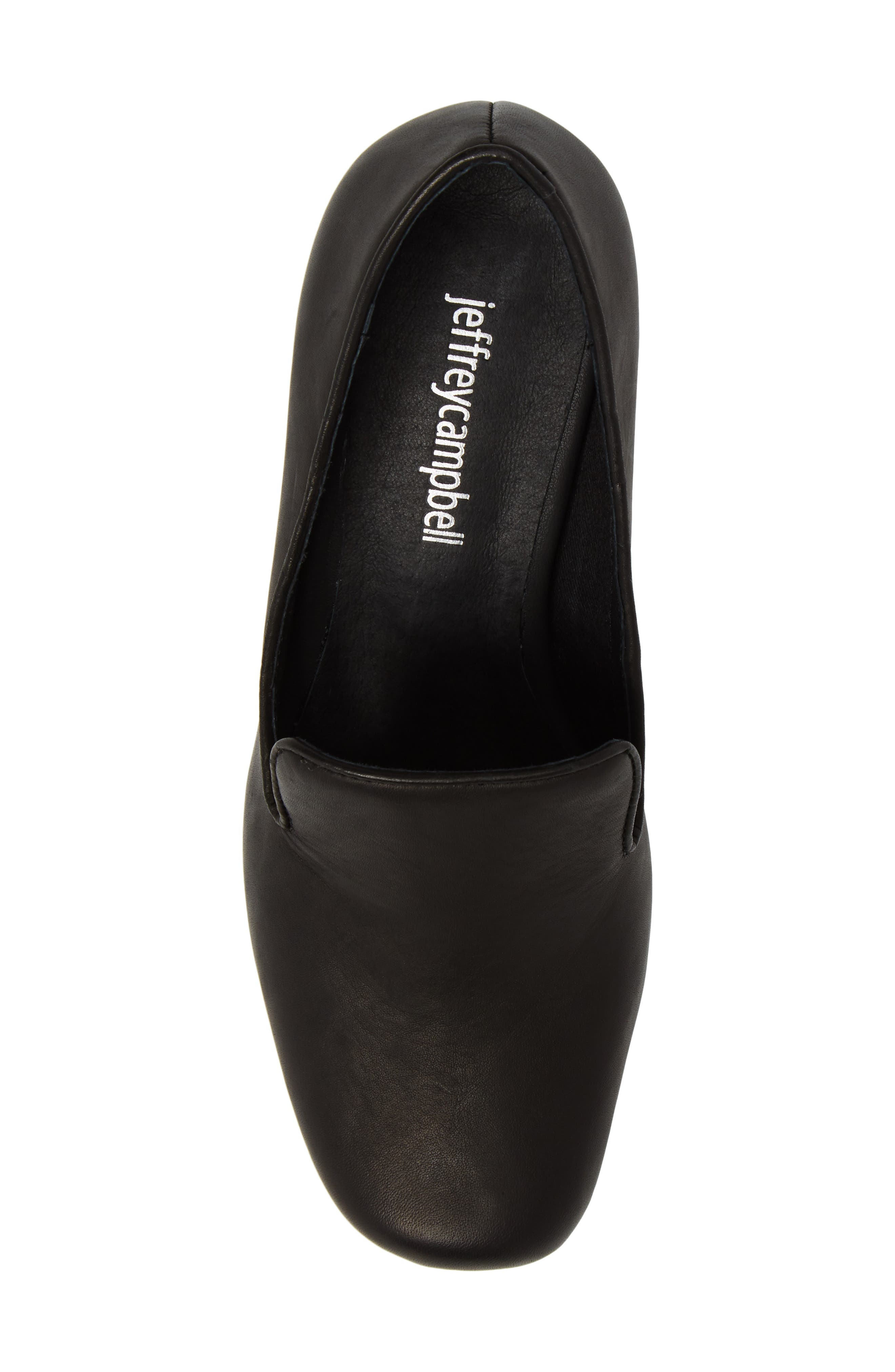 Alternate Image 5  - Jeffrey Campbell Lister Flared Heel Loafer Pump (Women)