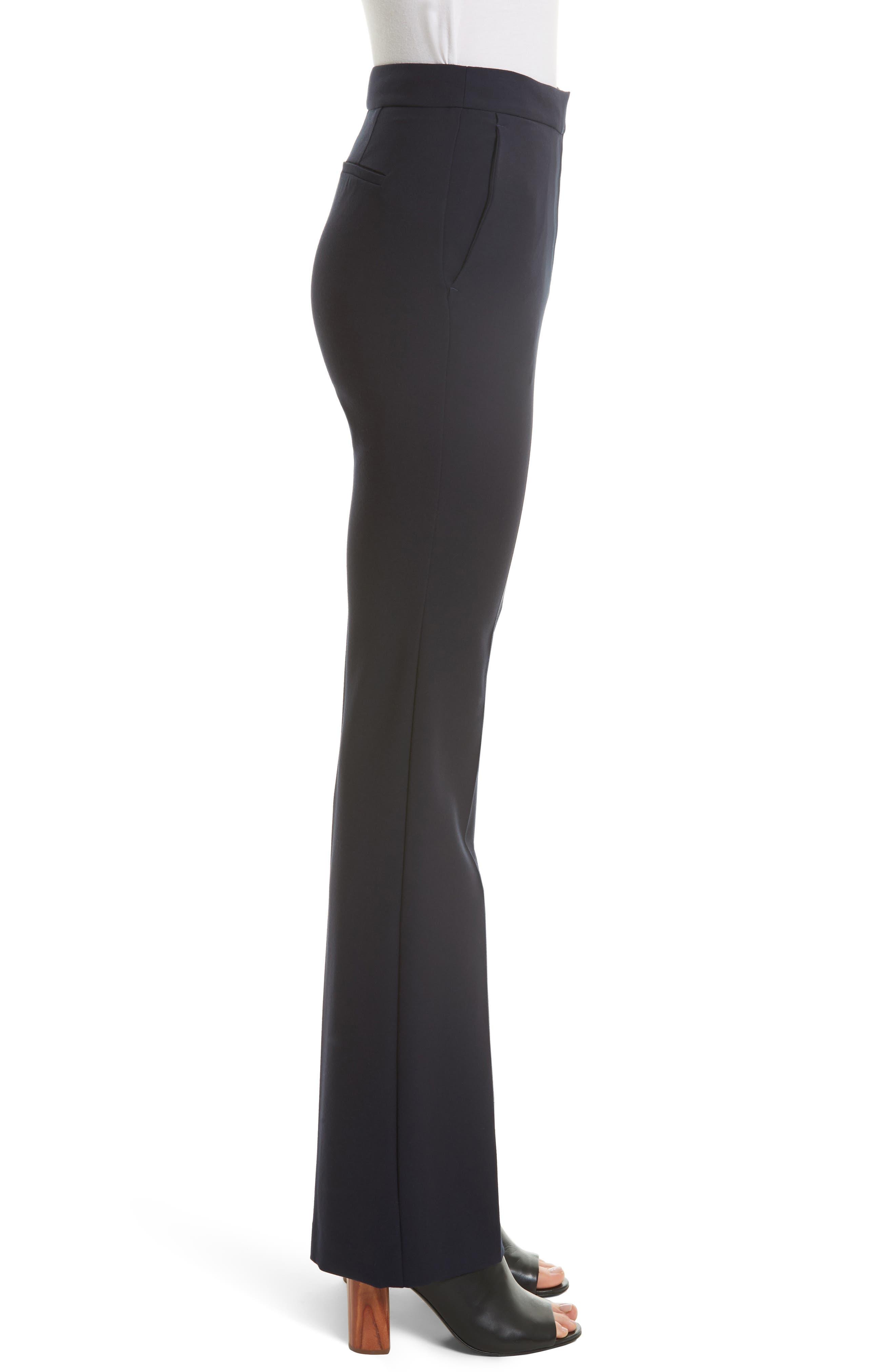 Stretch Suit Pants,                             Alternate thumbnail 3, color,                             Dark Navy