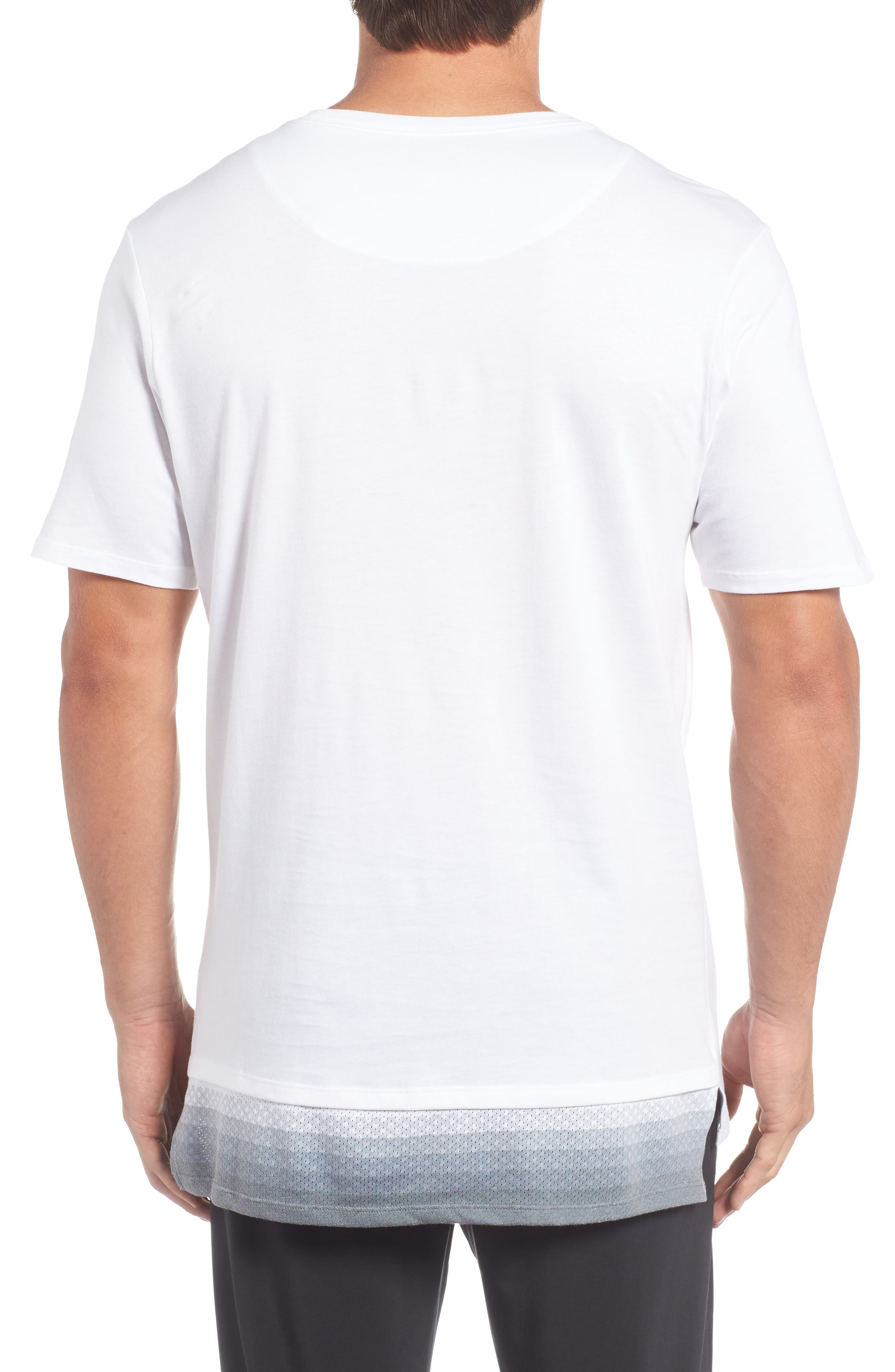 Alternate Image 2  - Nike Logo Graphic T-Shirt