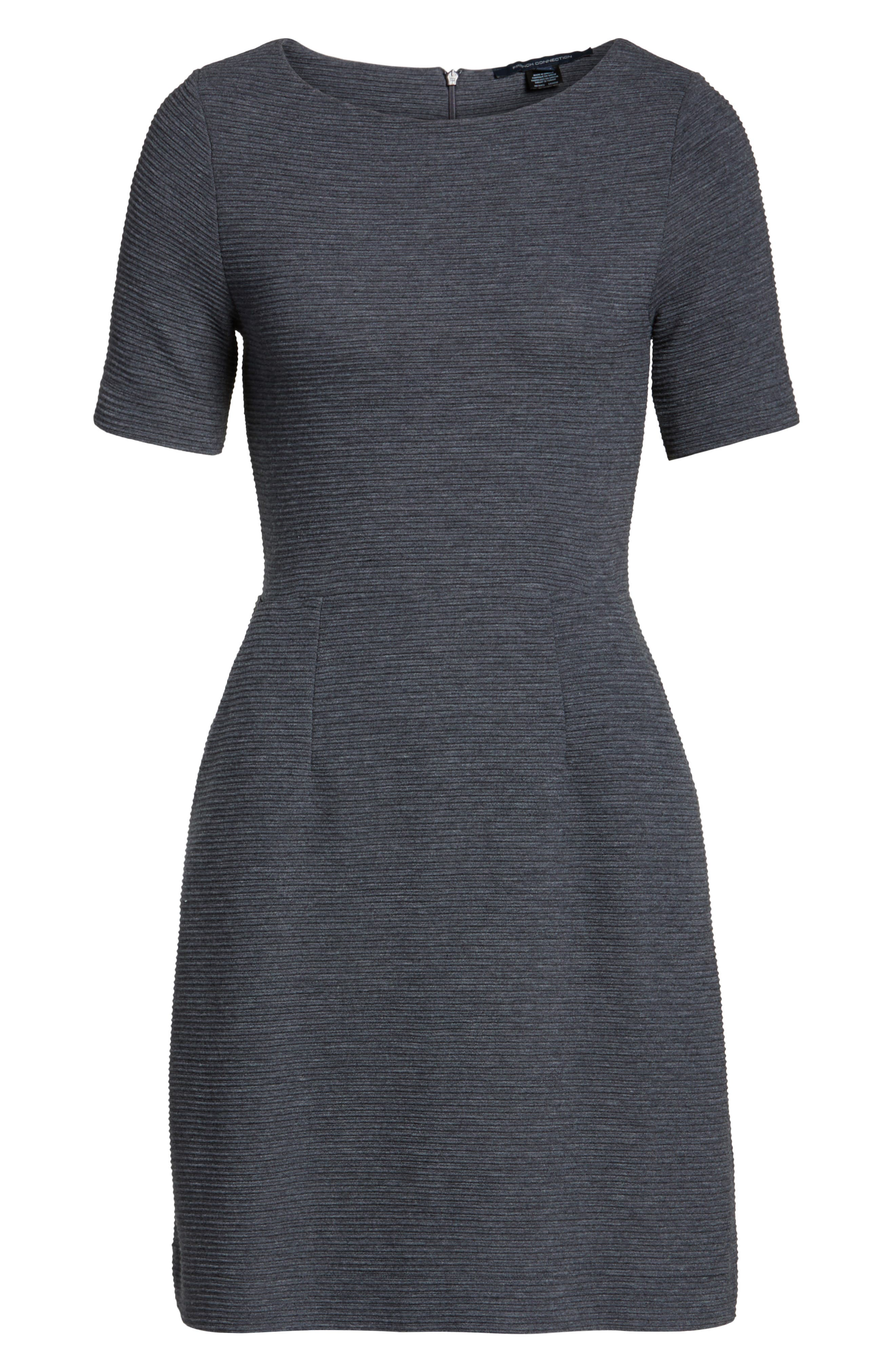 Sudan Fit & Flare Dress,                         Main,                         color, Dark Grey